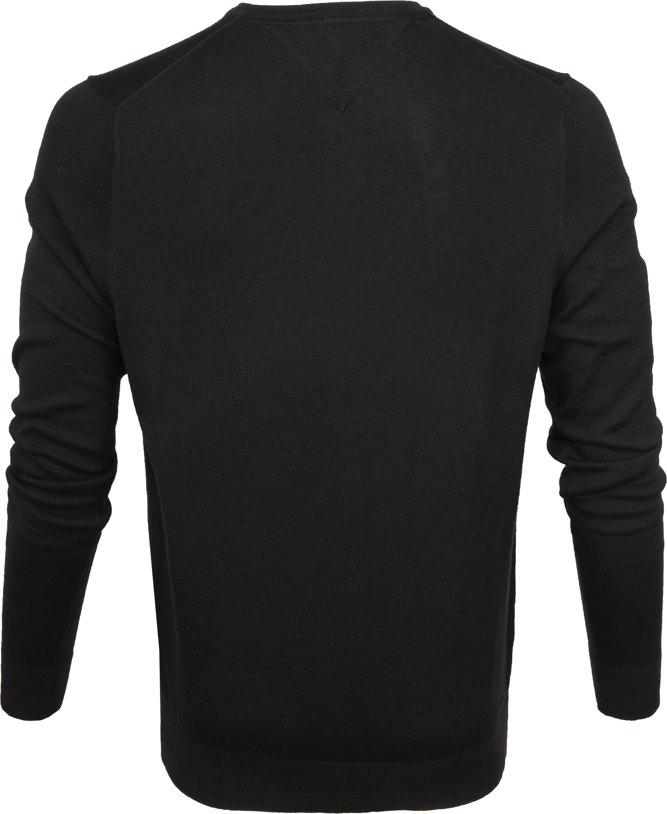 Tommy Hilfiger Pullover V-Hals Zwart