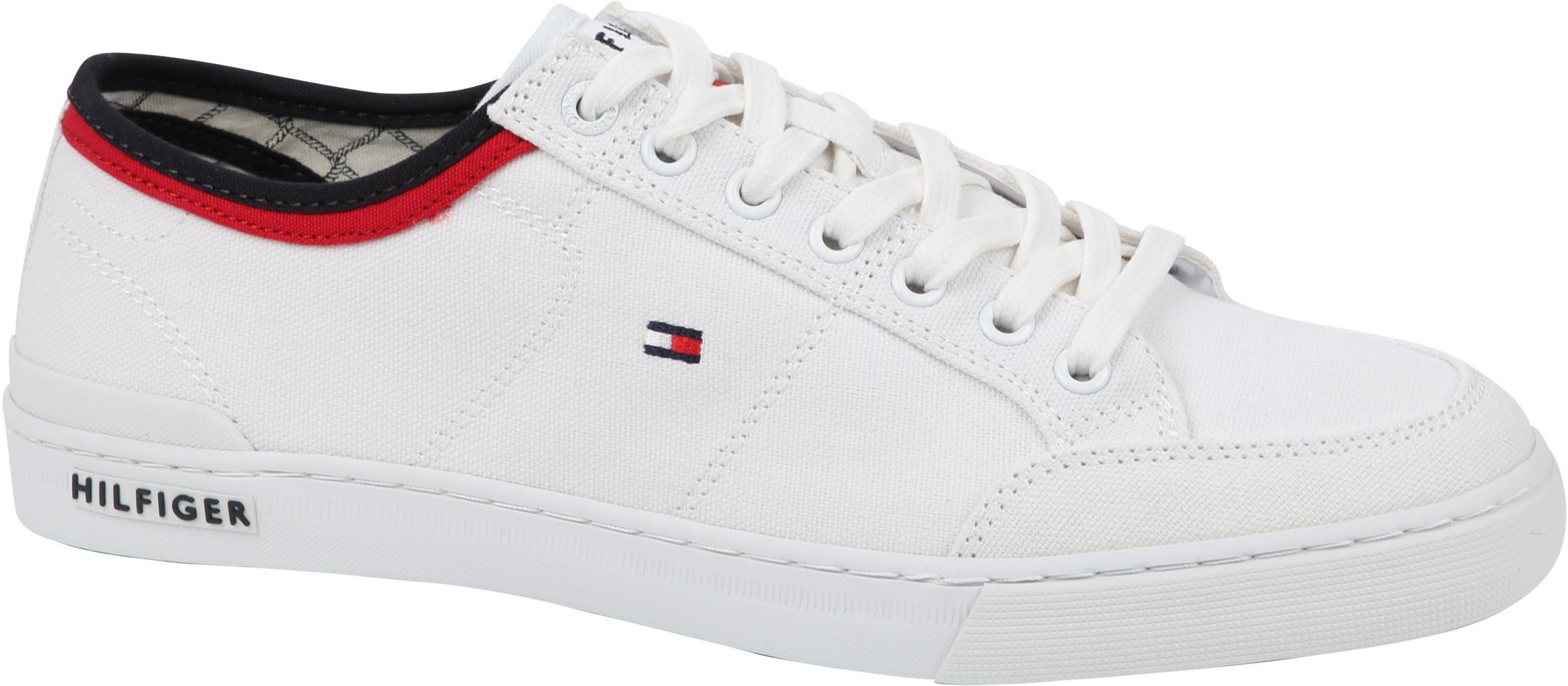 Tommy Hilfiger Shoe Core Corporat White foto 0