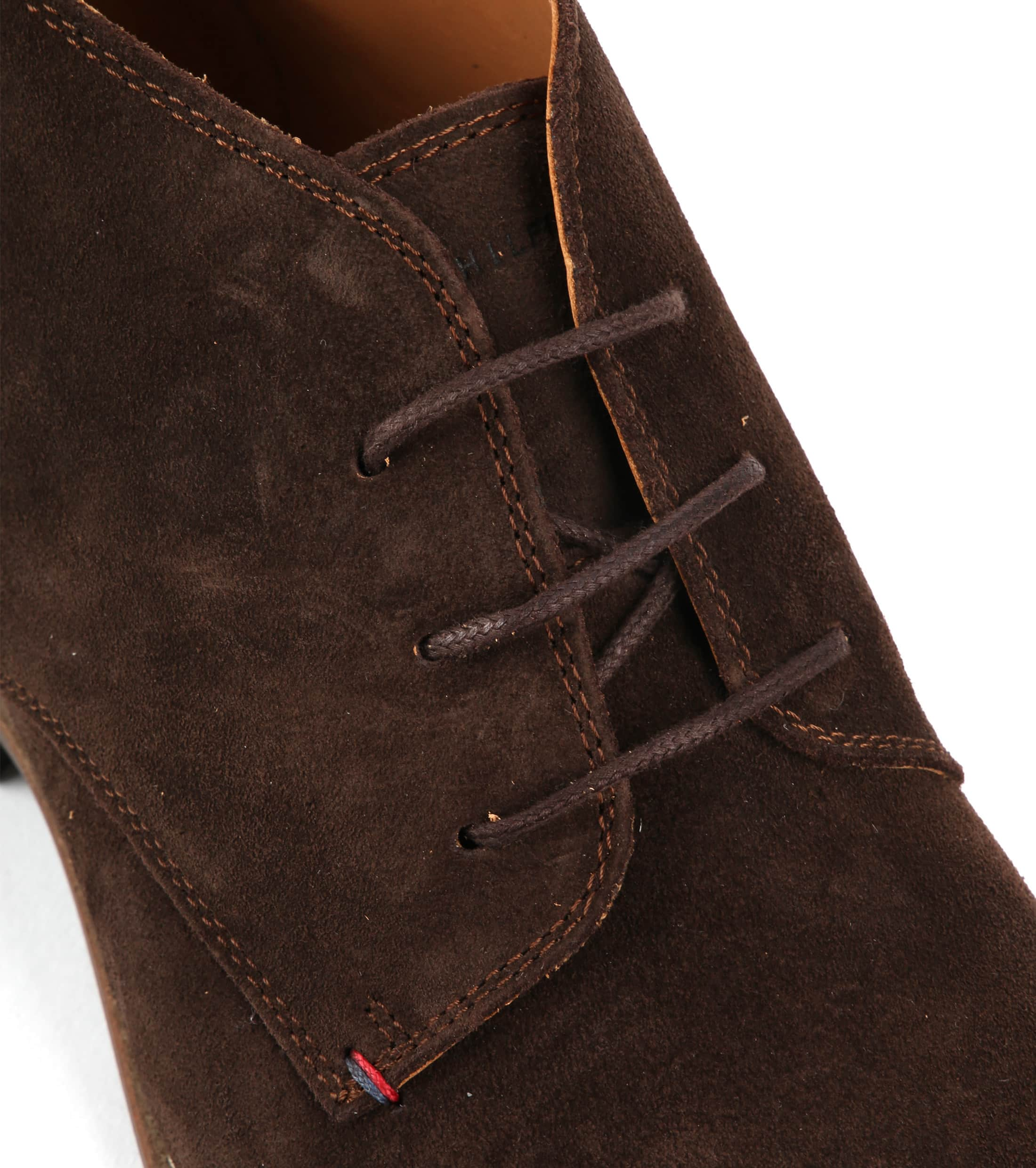 Tommy Hilfiger Suede Boot Coffee foto 1