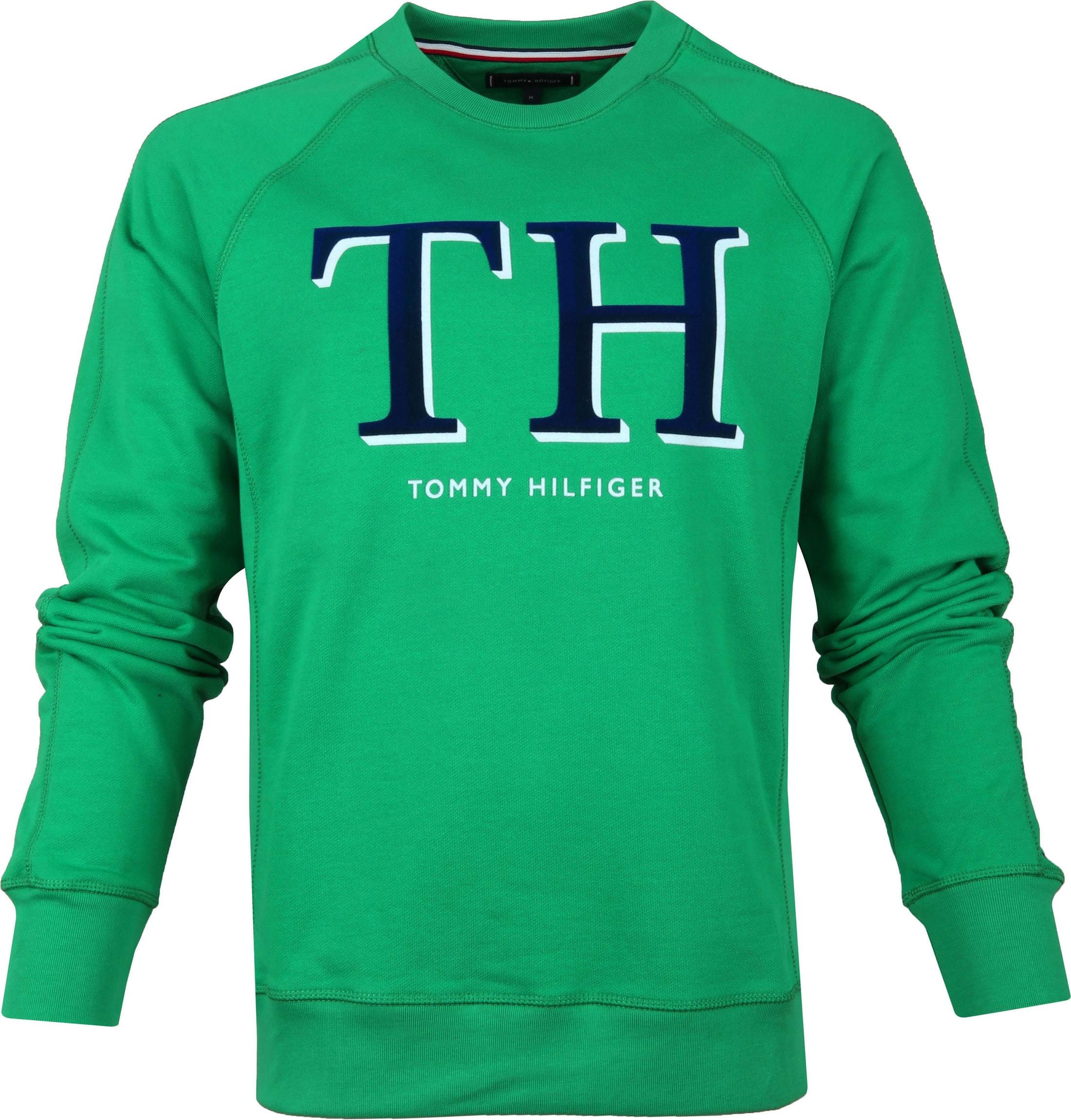 Tommy Hilfiger Sweater Groen foto 0