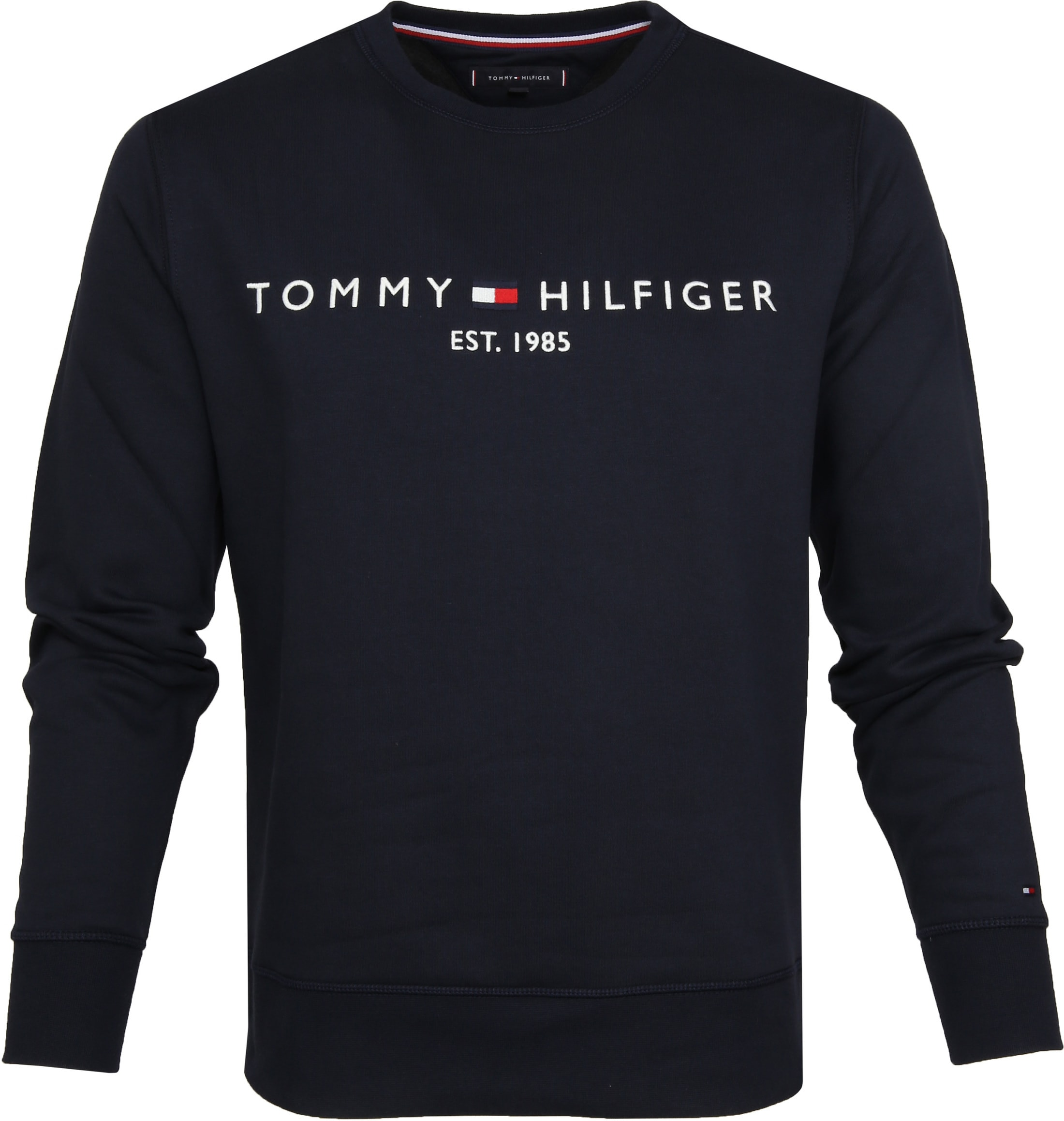 Tommy Hilfiger Sweater Logo Navy foto 0
