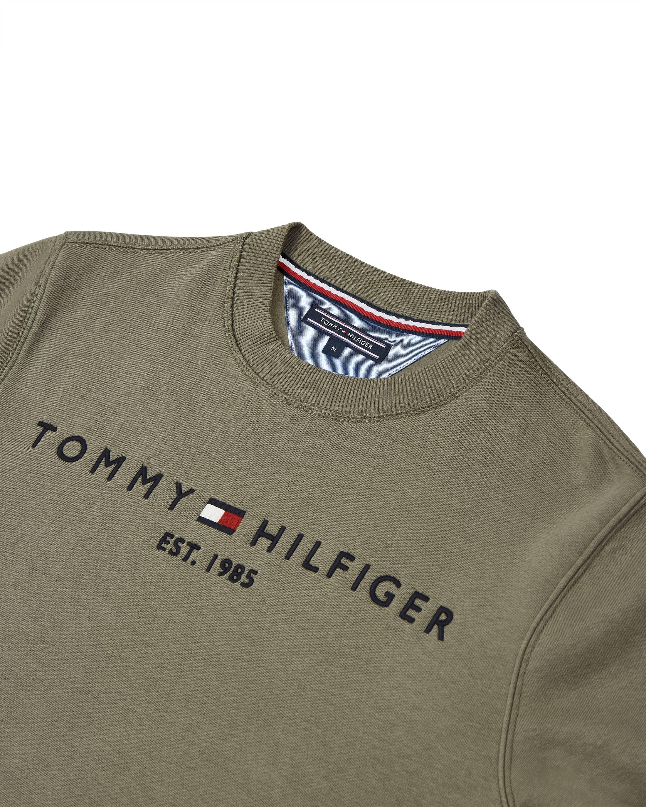 Tommy Hilfiger Sweater Olive foto 1
