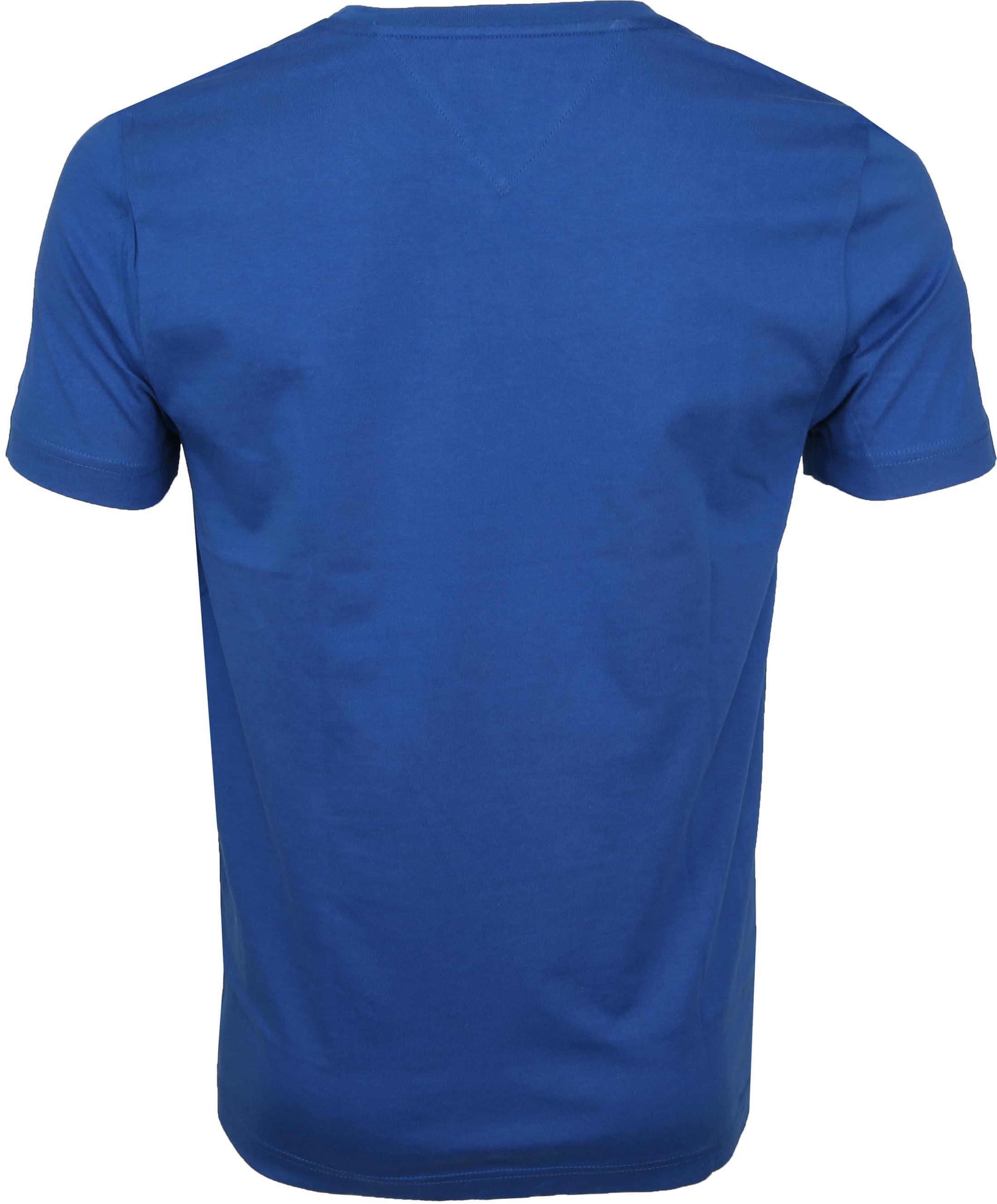Tommy Hilfiger T-shirt Box Print Blau foto 3