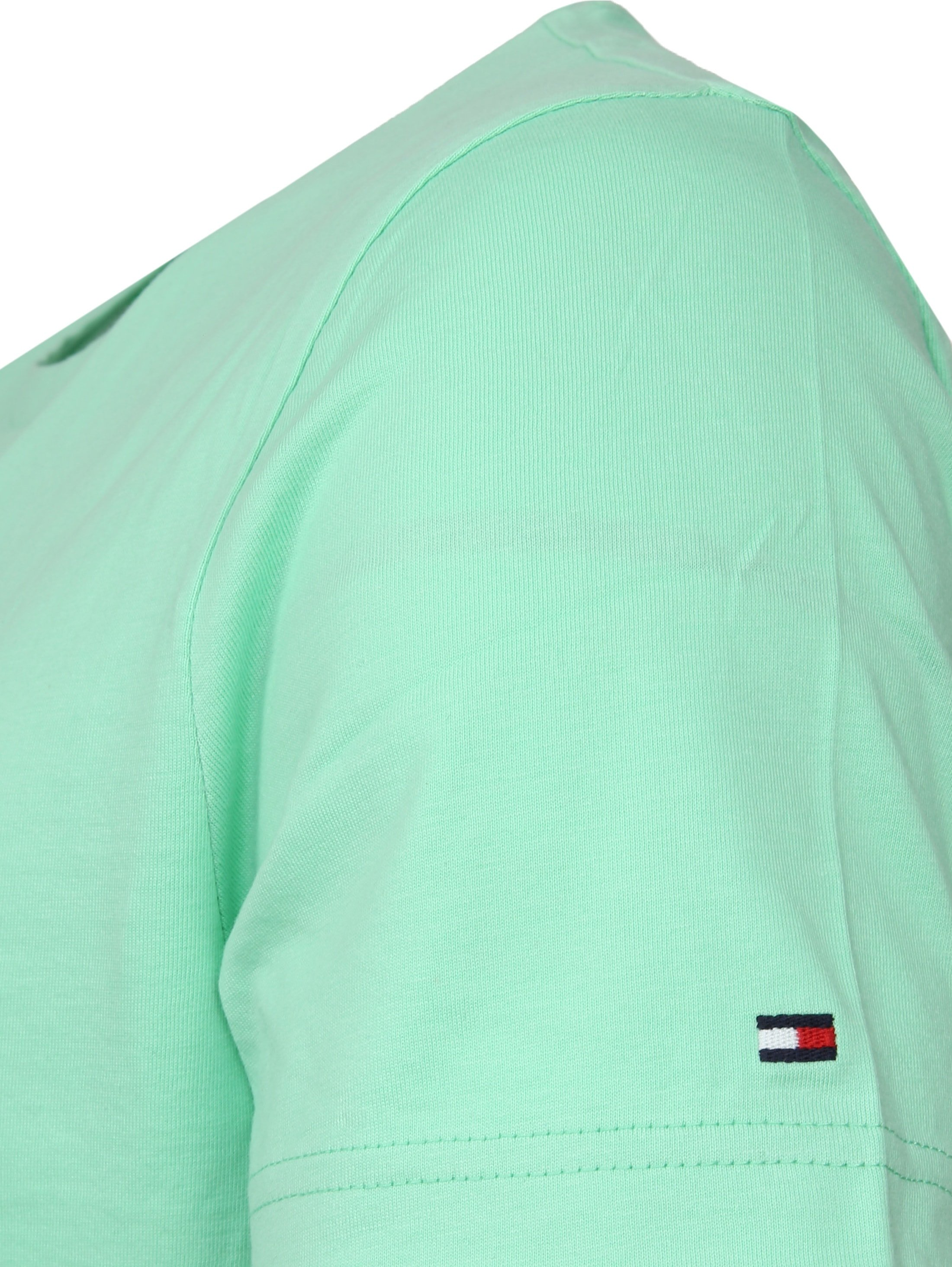 Tommy Hilfiger T-shirt Box Print Light Green foto 3