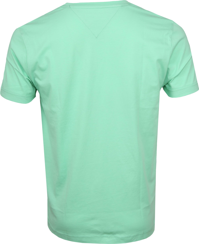 Tommy Hilfiger T-shirt Box Print Light Green foto 4