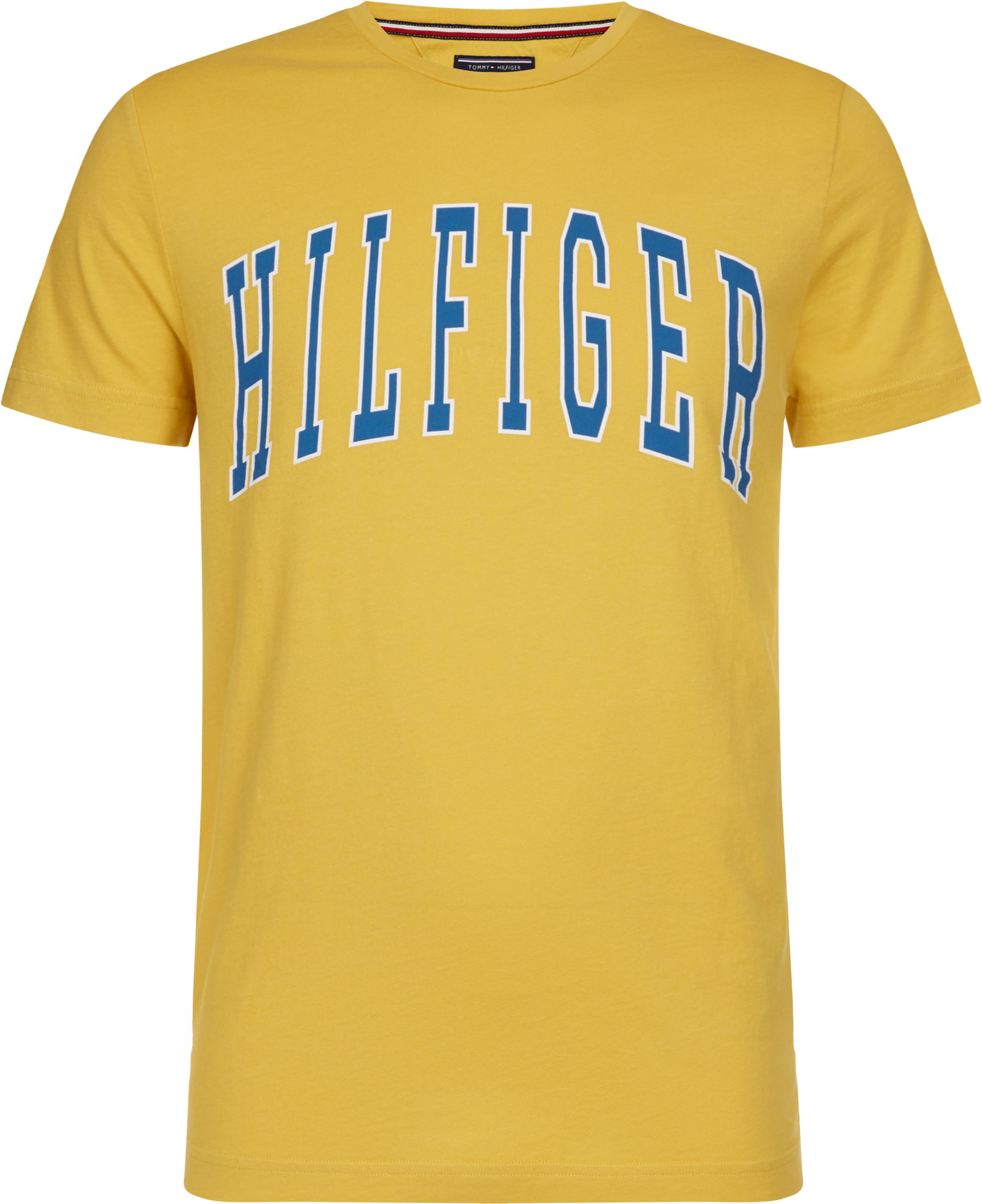 Tommy Hilfiger T-shirt College Geel foto 0