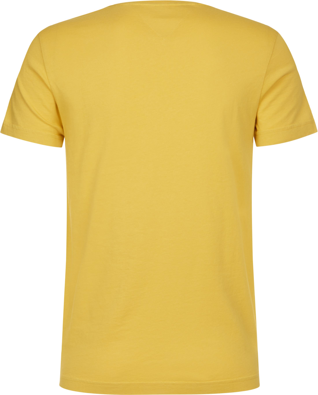 Tommy Hilfiger T-shirt College Geel foto 1