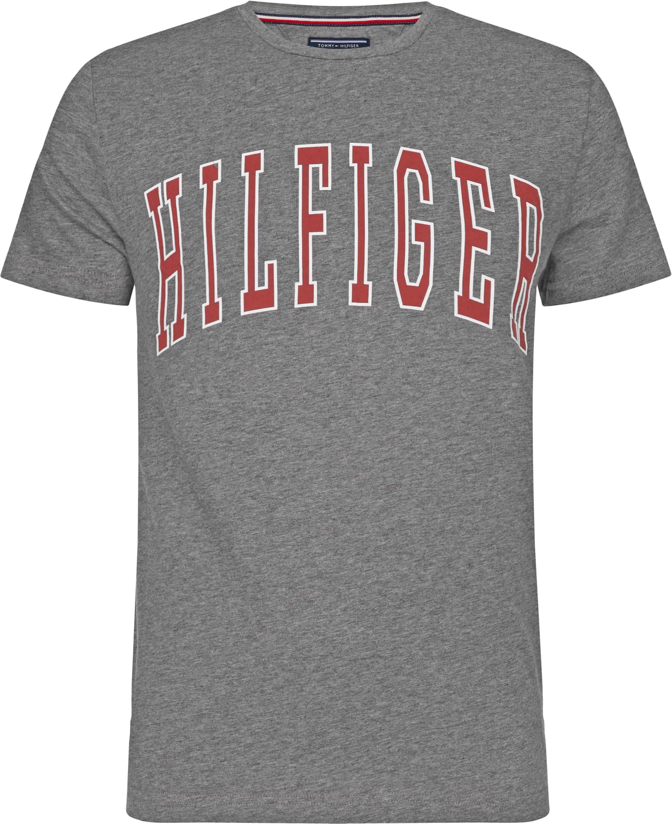 Tommy Hilfiger T-shirt College Grijs foto 0