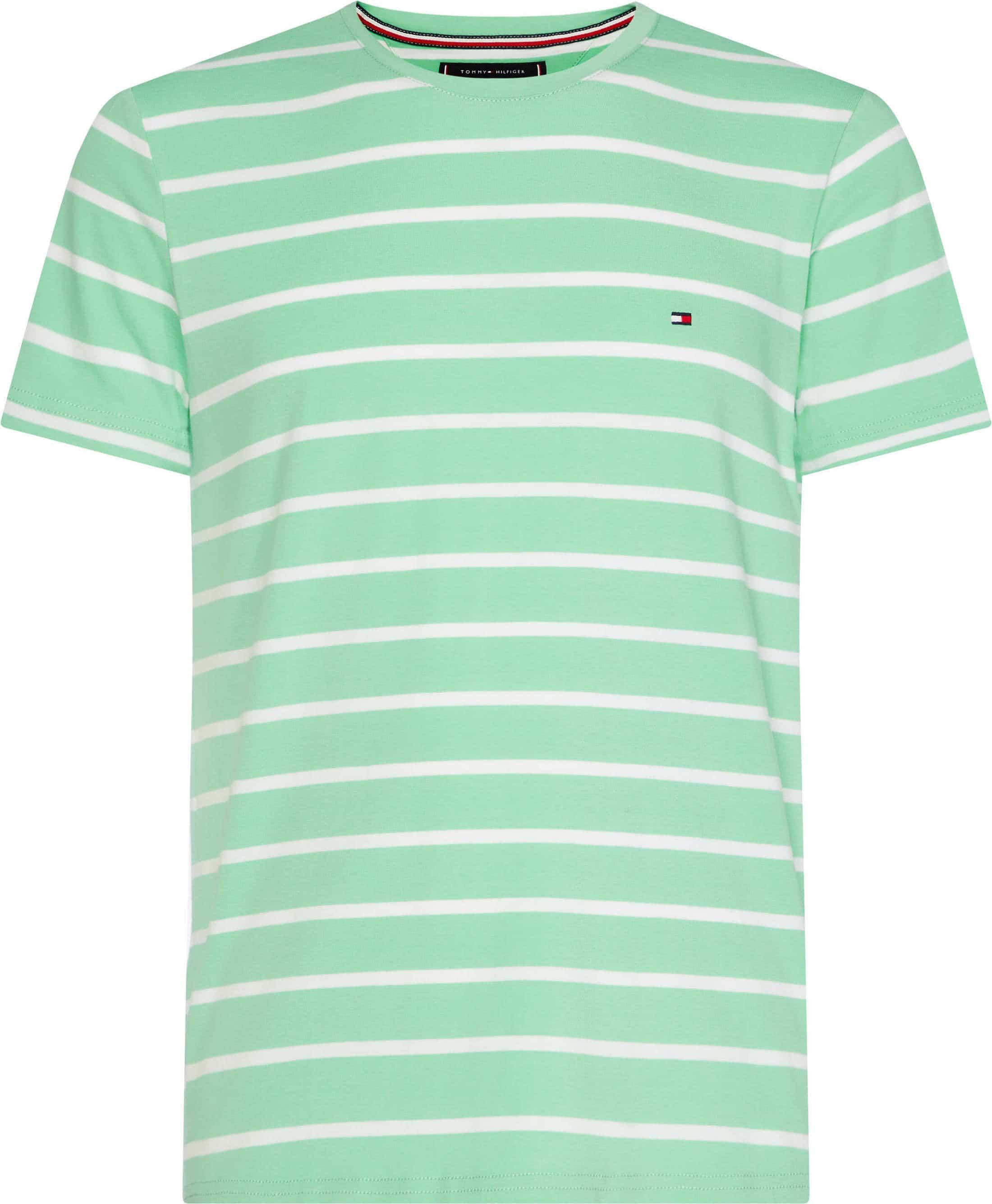 dddf01cef Tommy Hilfiger T-shirt Stripe Green MW0MW09813907 order online ...