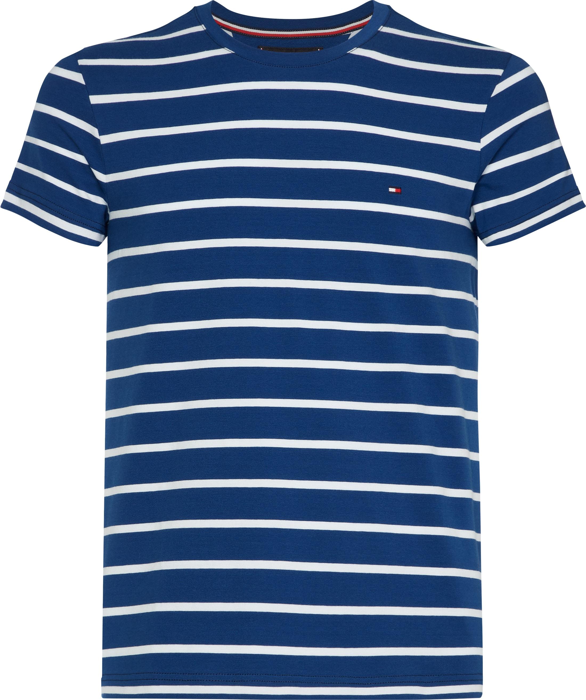 d381bb3d Tommy Hilfiger T-shirt Stripes Blue MW0MW09813903 order online ...