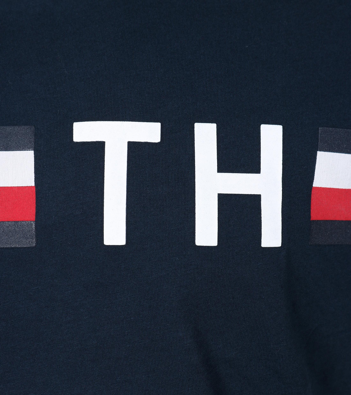 Tommy Hilfiger T-shirt TH Blauw foto 1