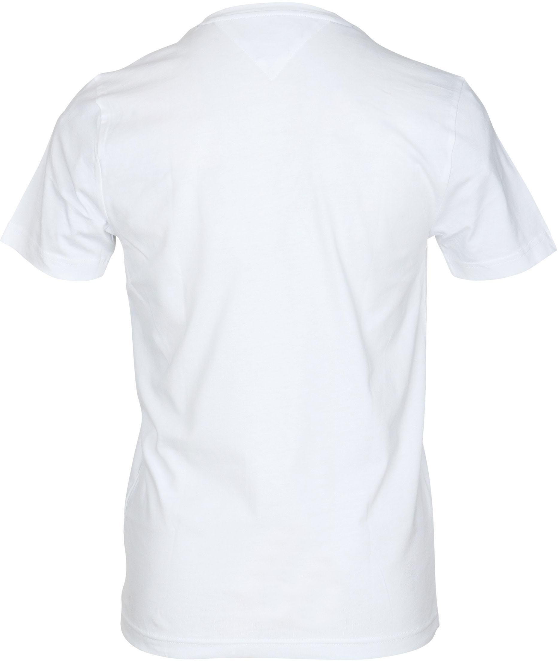 Tommy Hilfiger T-shirt Wit foto 3