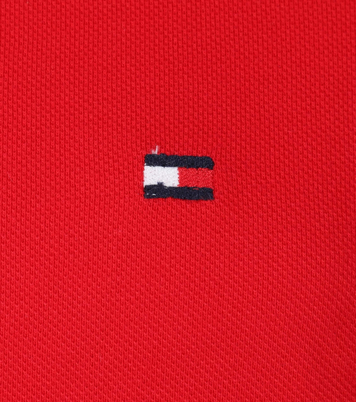 Tommy Hilfiger Uni Polo Rood foto 1