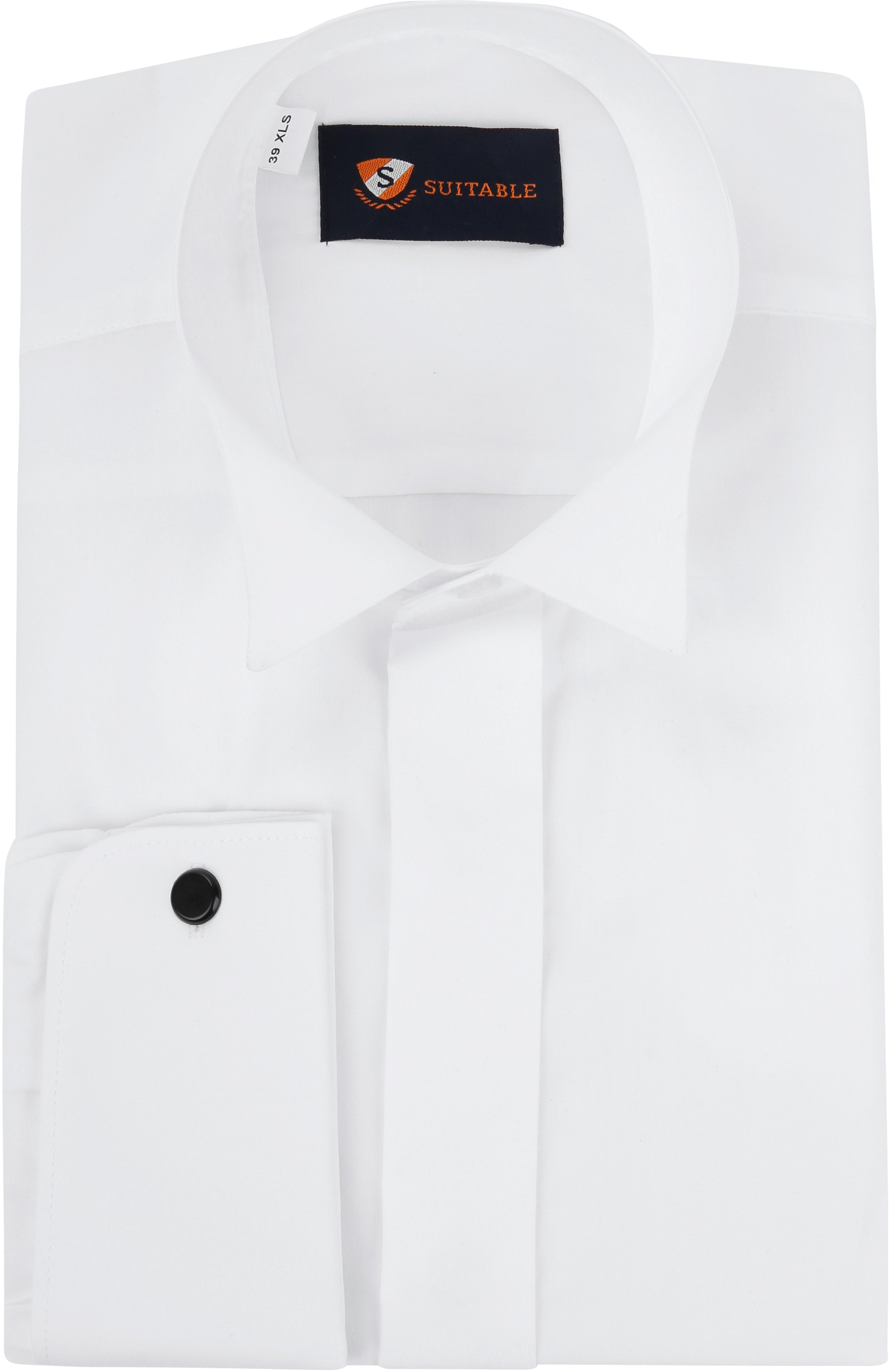 wide range clearance prices best selection of 2019 Tuxedo Shirt High Collar White 800083SU VM Glad order online ...