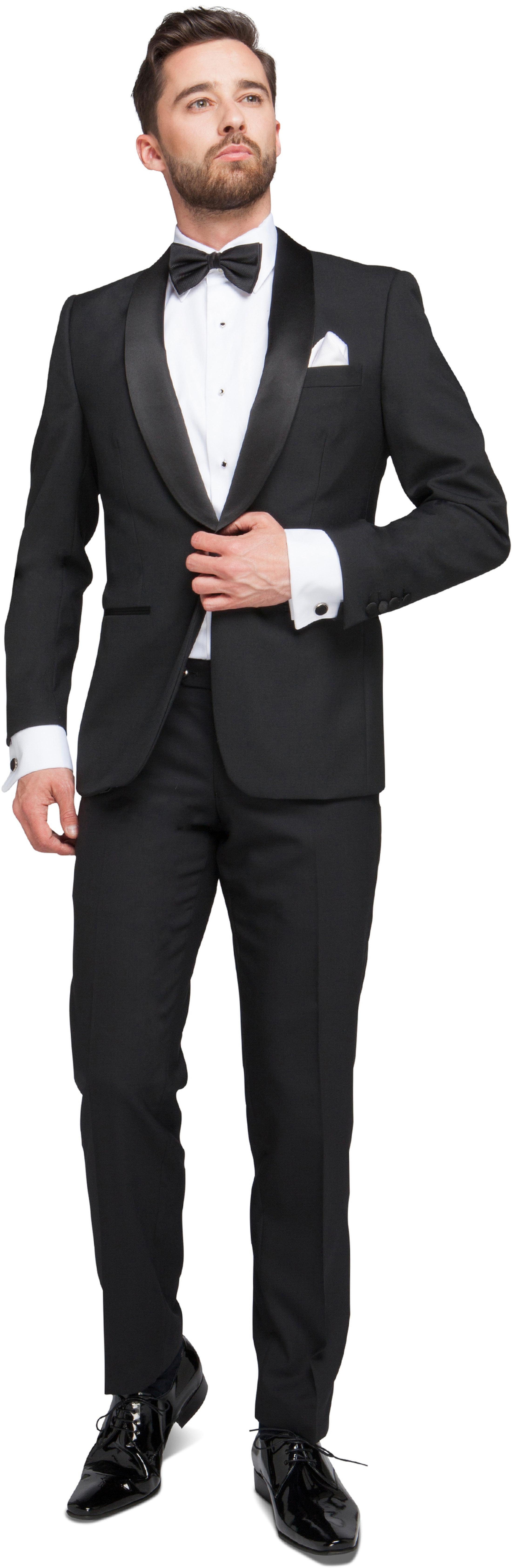 Tuxedo Suit Wool Blend foto 0