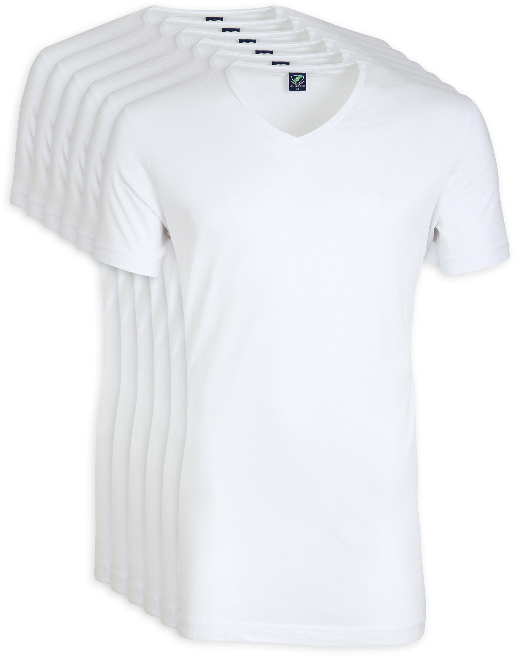 V-Neck 6-Pack Bamboo T-shirts foto 0