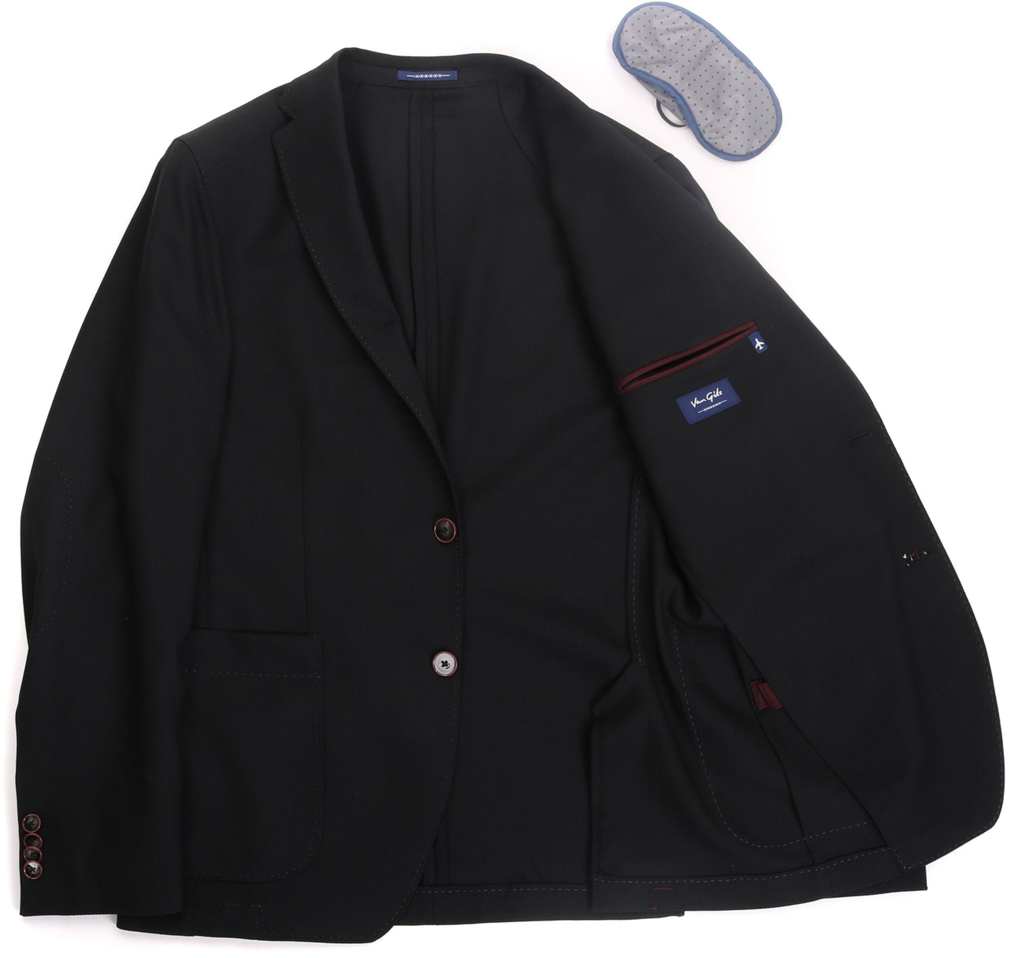 Van Gils Travel Jacket Black