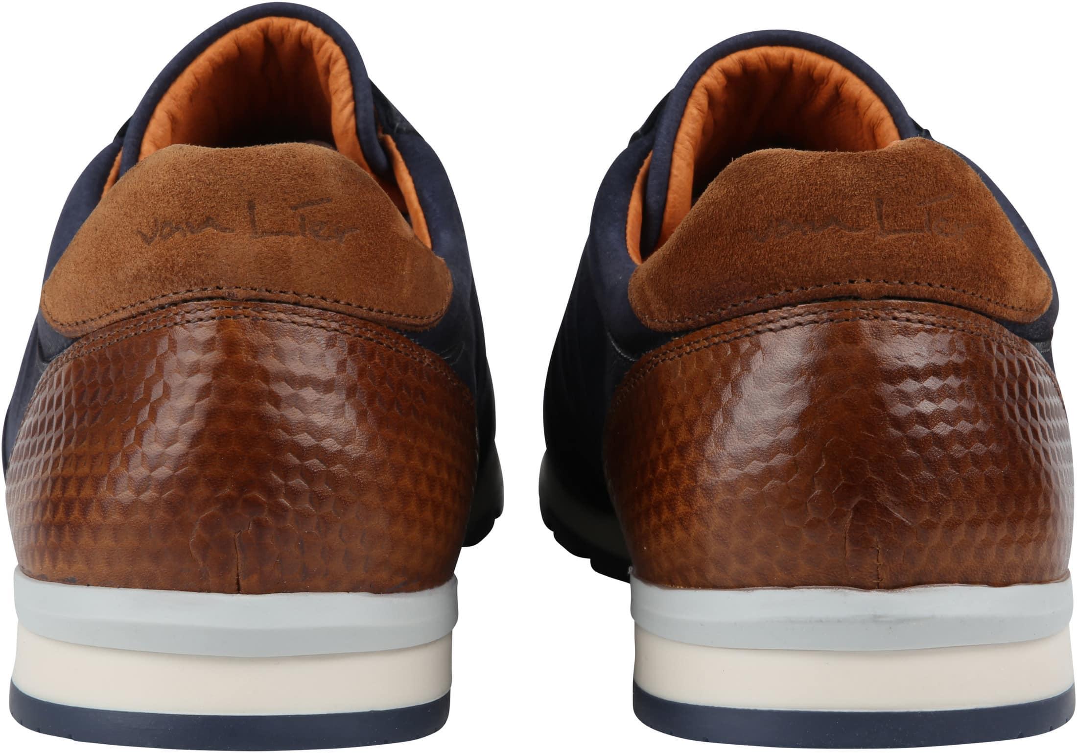 Van Lier Anzano Sneaker Donkerblauw foto 3