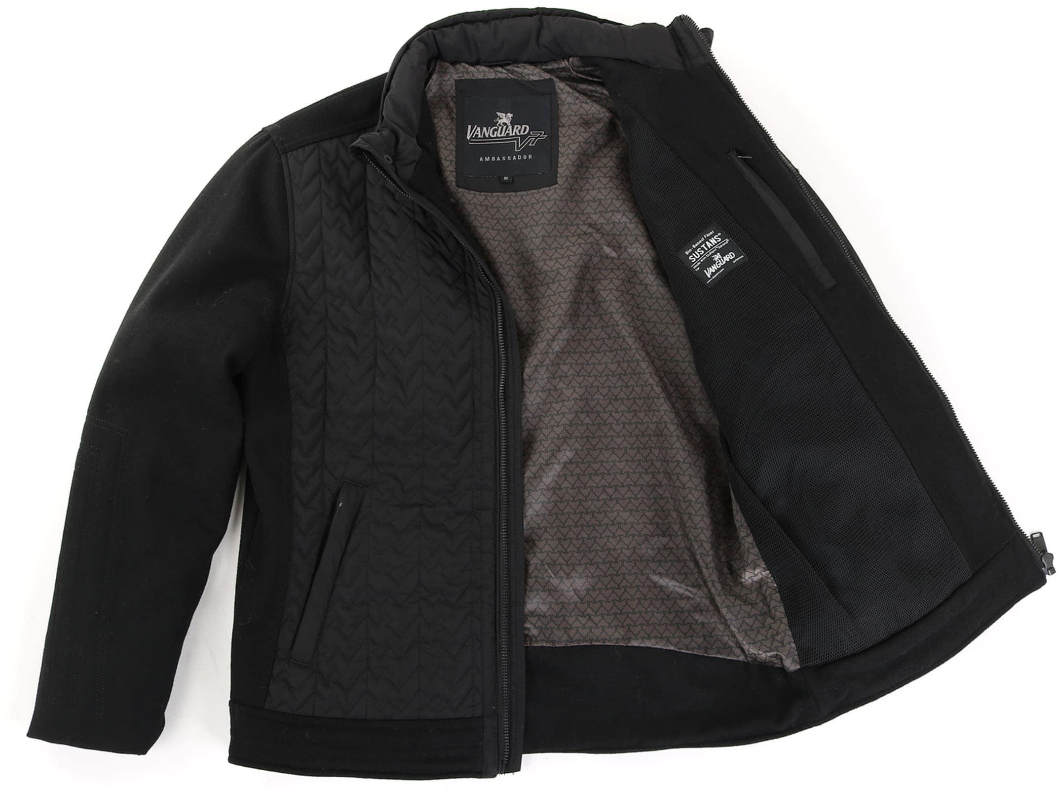 Vanguard Bicker Jacket Zwart foto 5