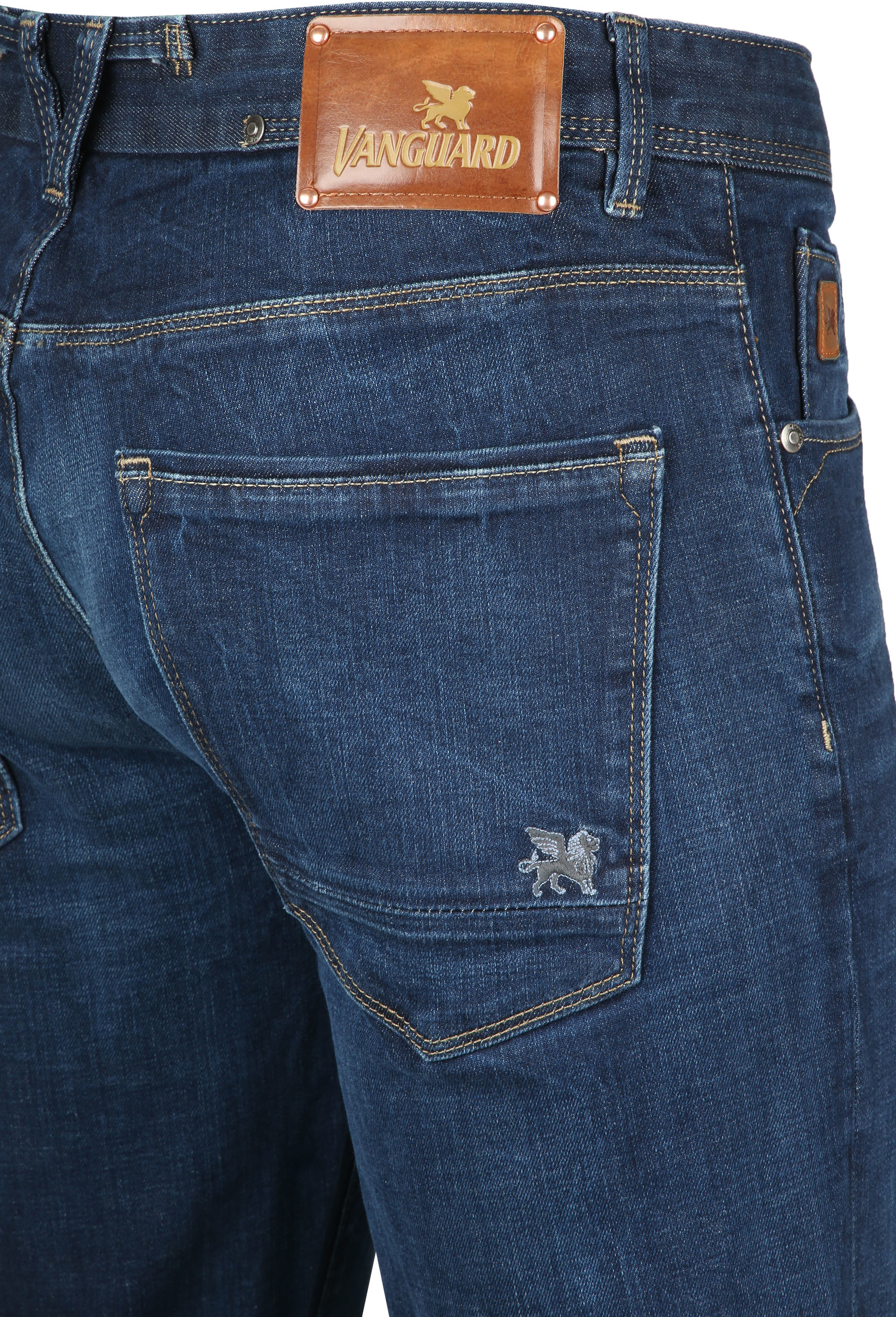 Vanguard Jeans V7 Rider Pure Blue photo 3