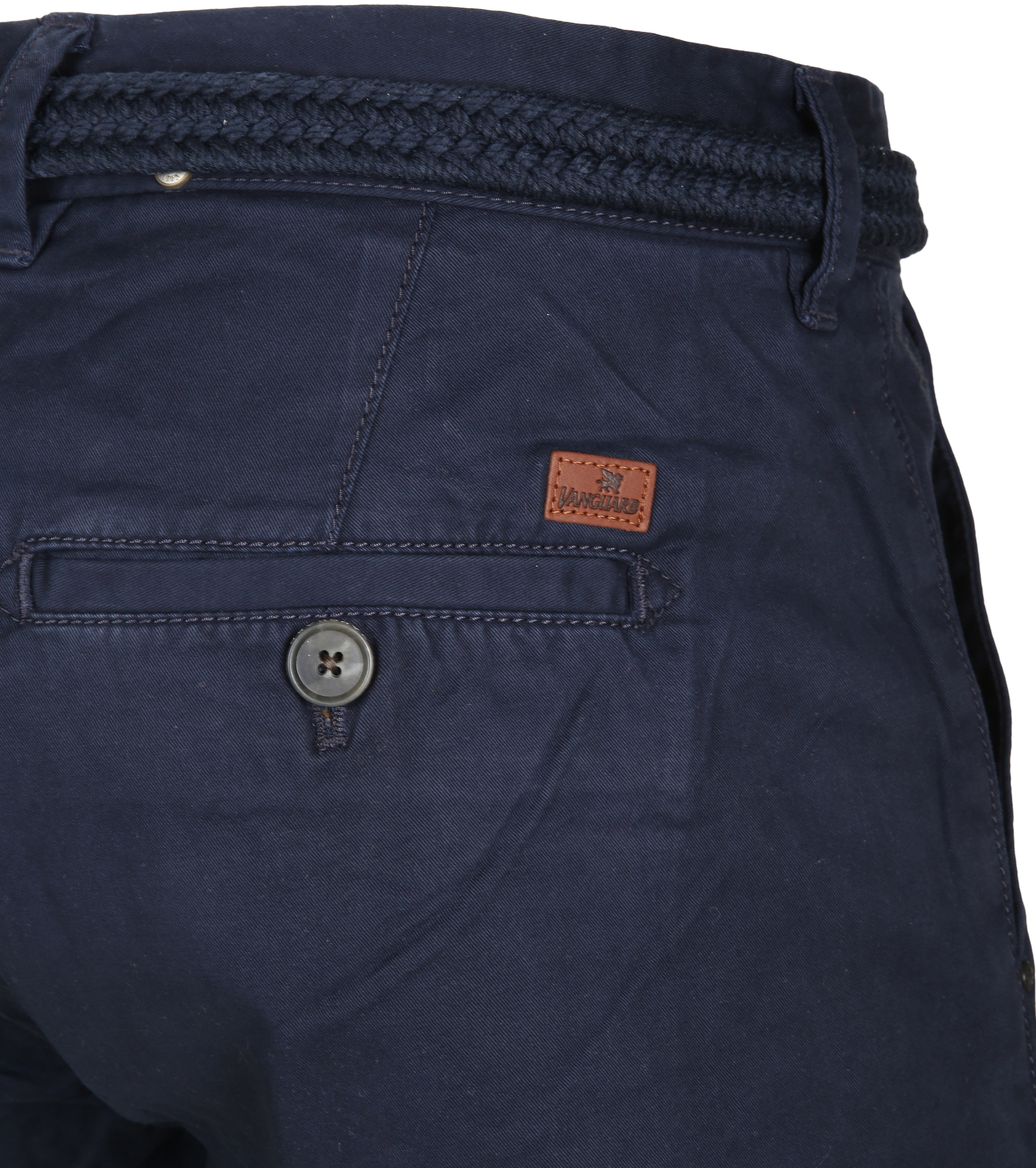 Vanguard Korte Broek Twill Navy foto 3