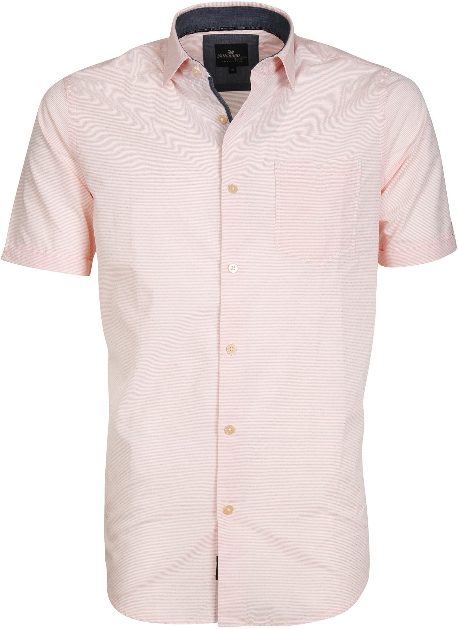 Vanguard Overhemd Colorad Stripe Roze foto 0