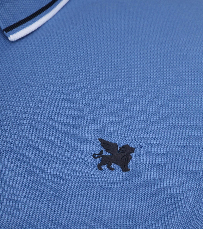 Vanguard Polo Pique Blauw foto 2