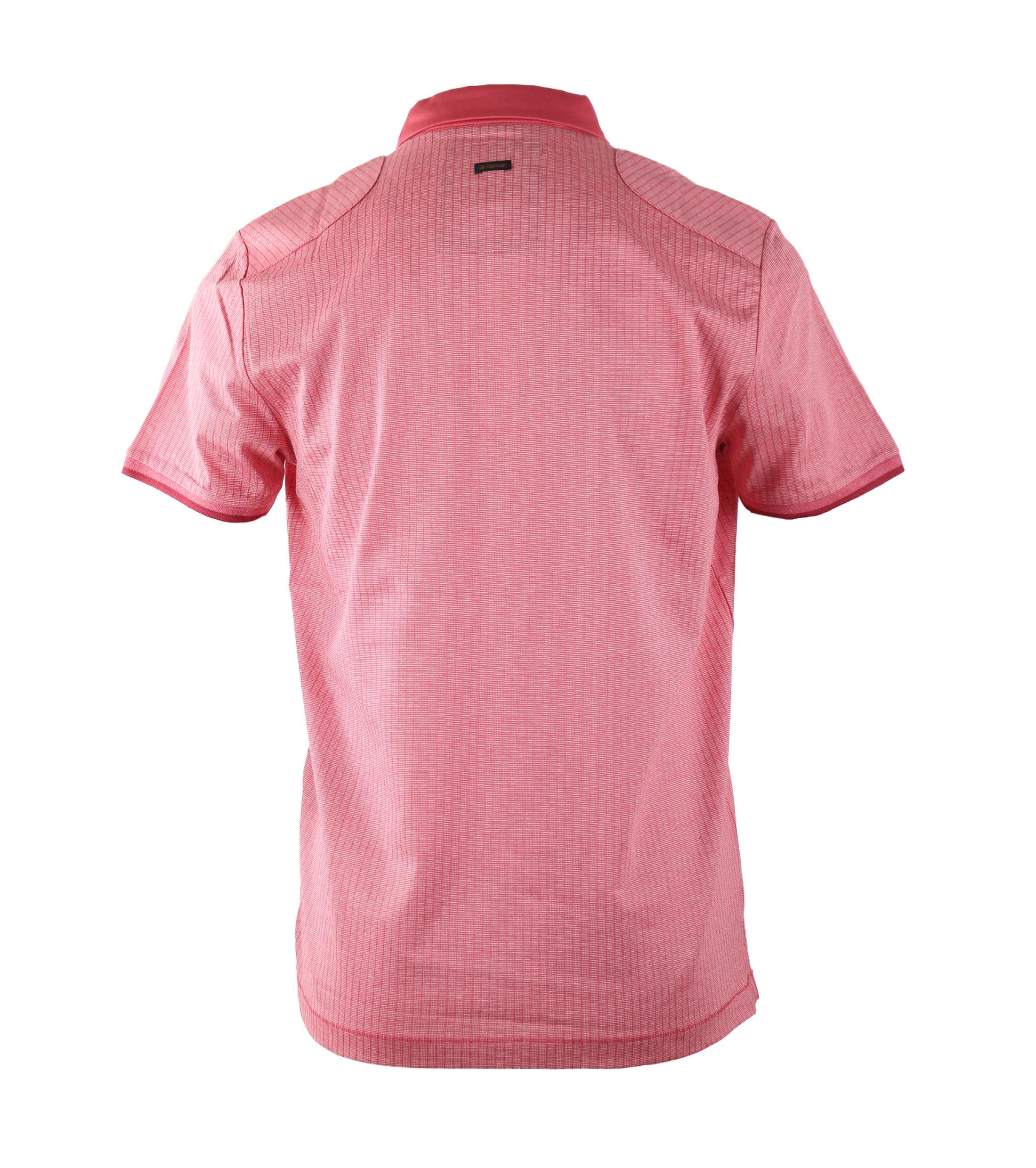 Vanguard Poloshirt Rood Jacquard foto 1
