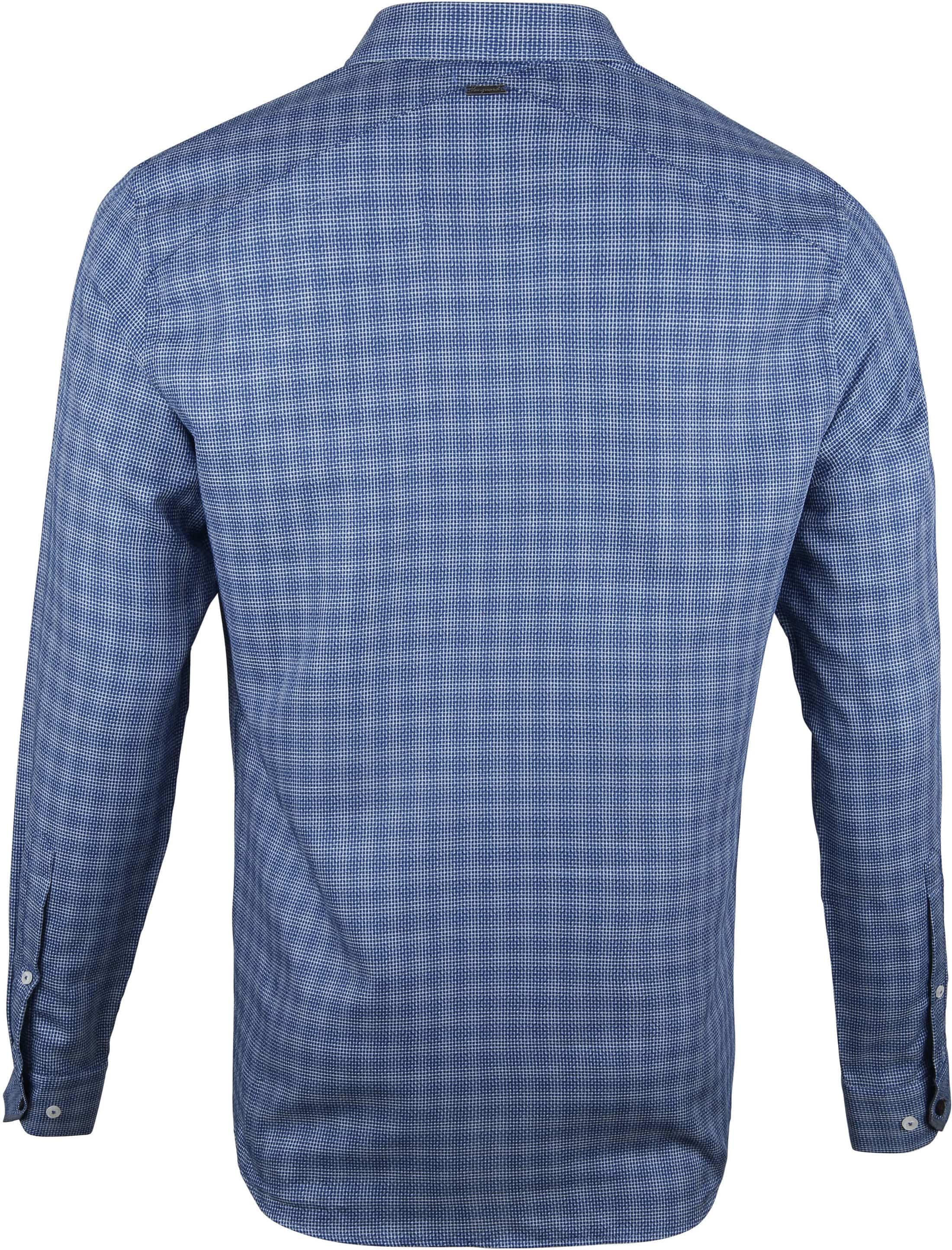 Vanguard Print Shirt Printed Navy foto 3