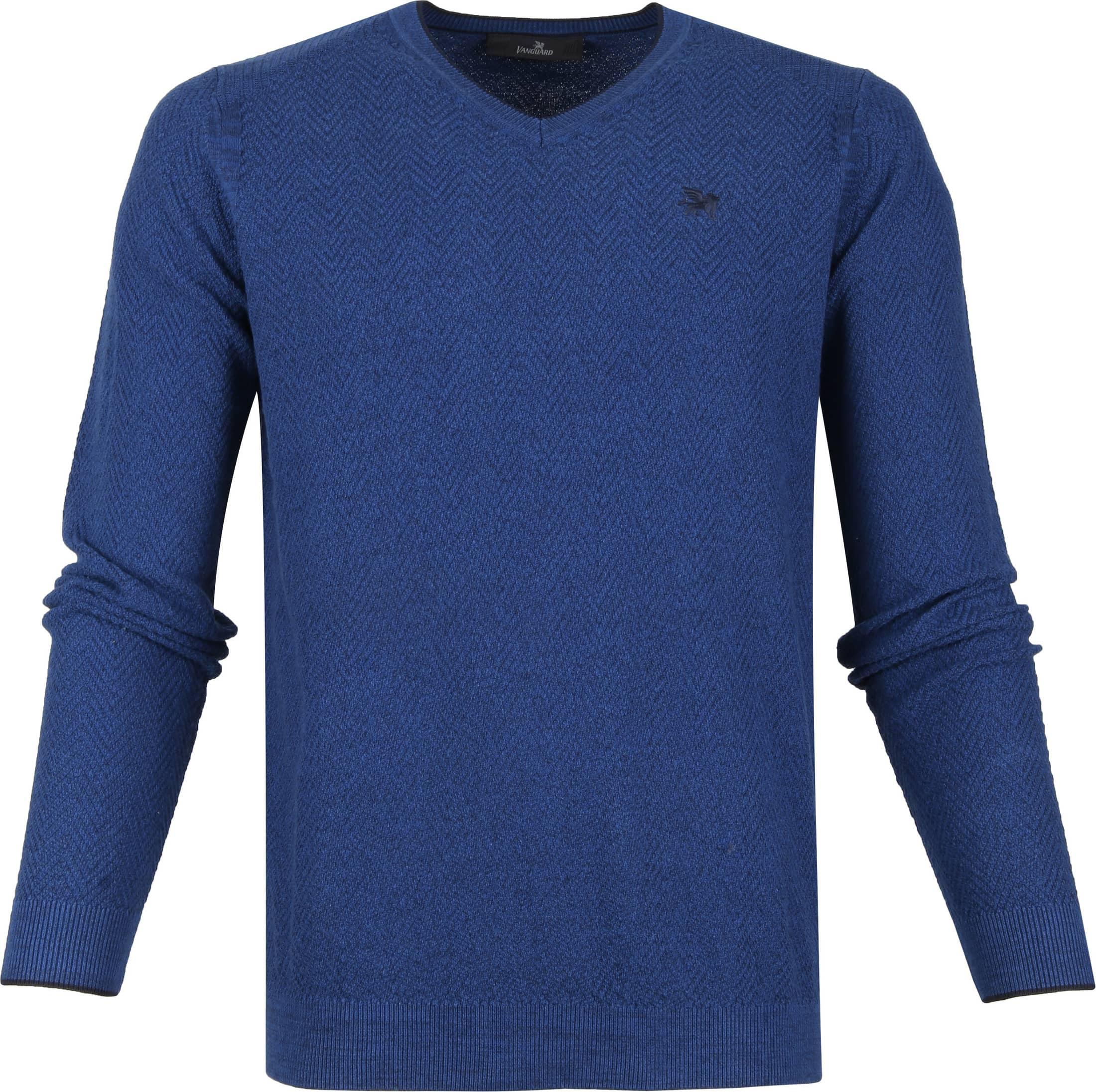 Vanguard Pullover Blauw foto 0