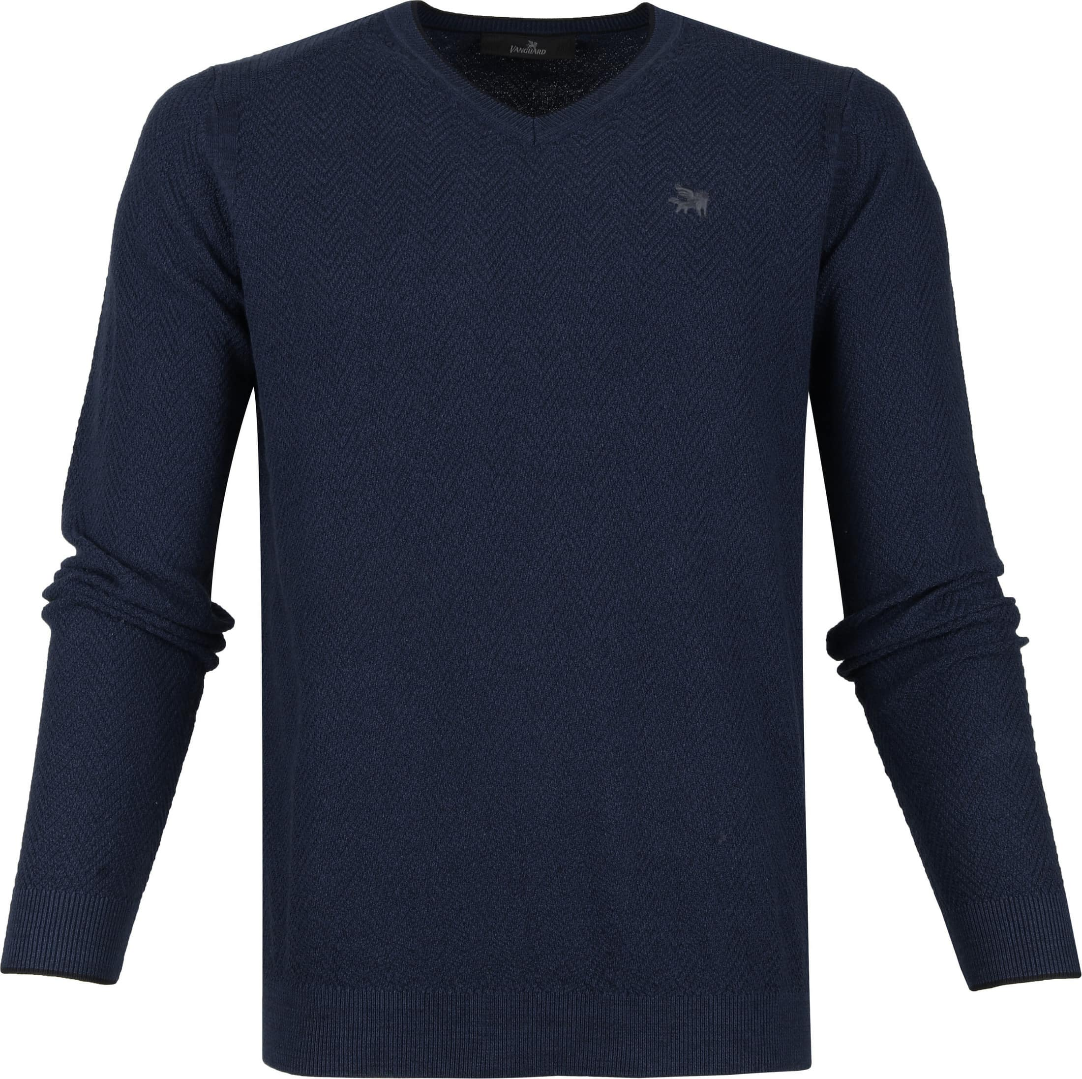 Vanguard Pullover Dark Blue foto 0