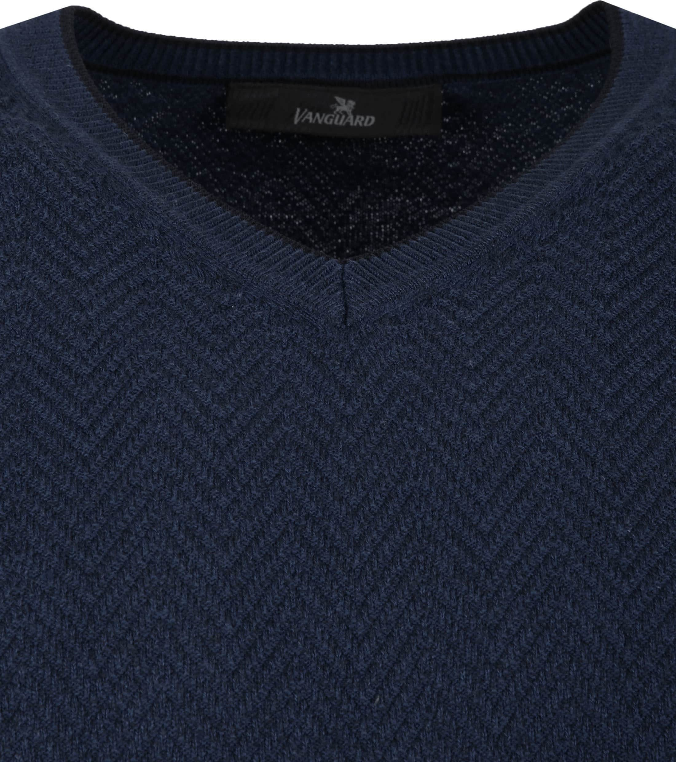 Vanguard Pullover Dark Blue foto 1