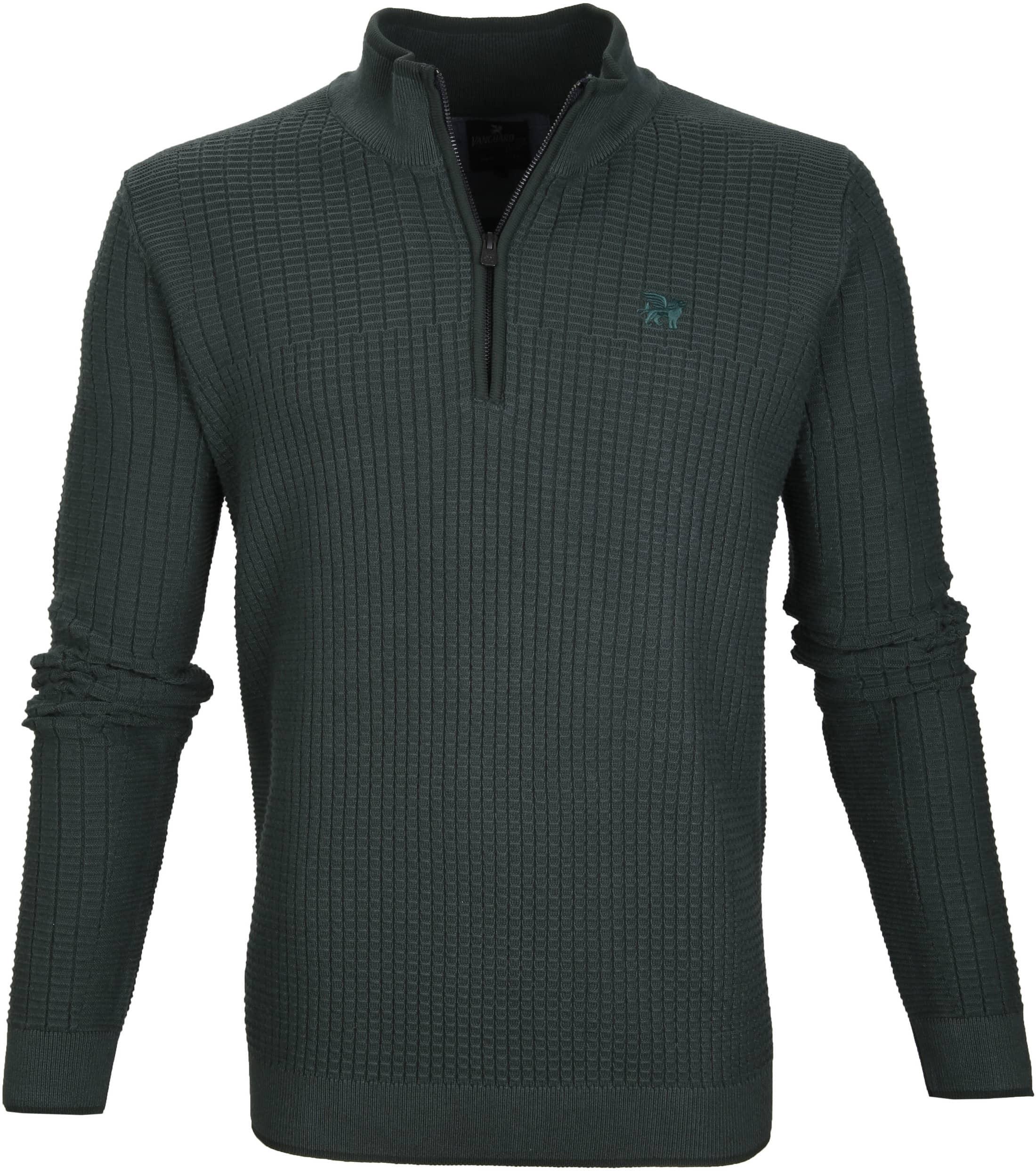 Vanguard Pullover Zipper Dark Green foto 0