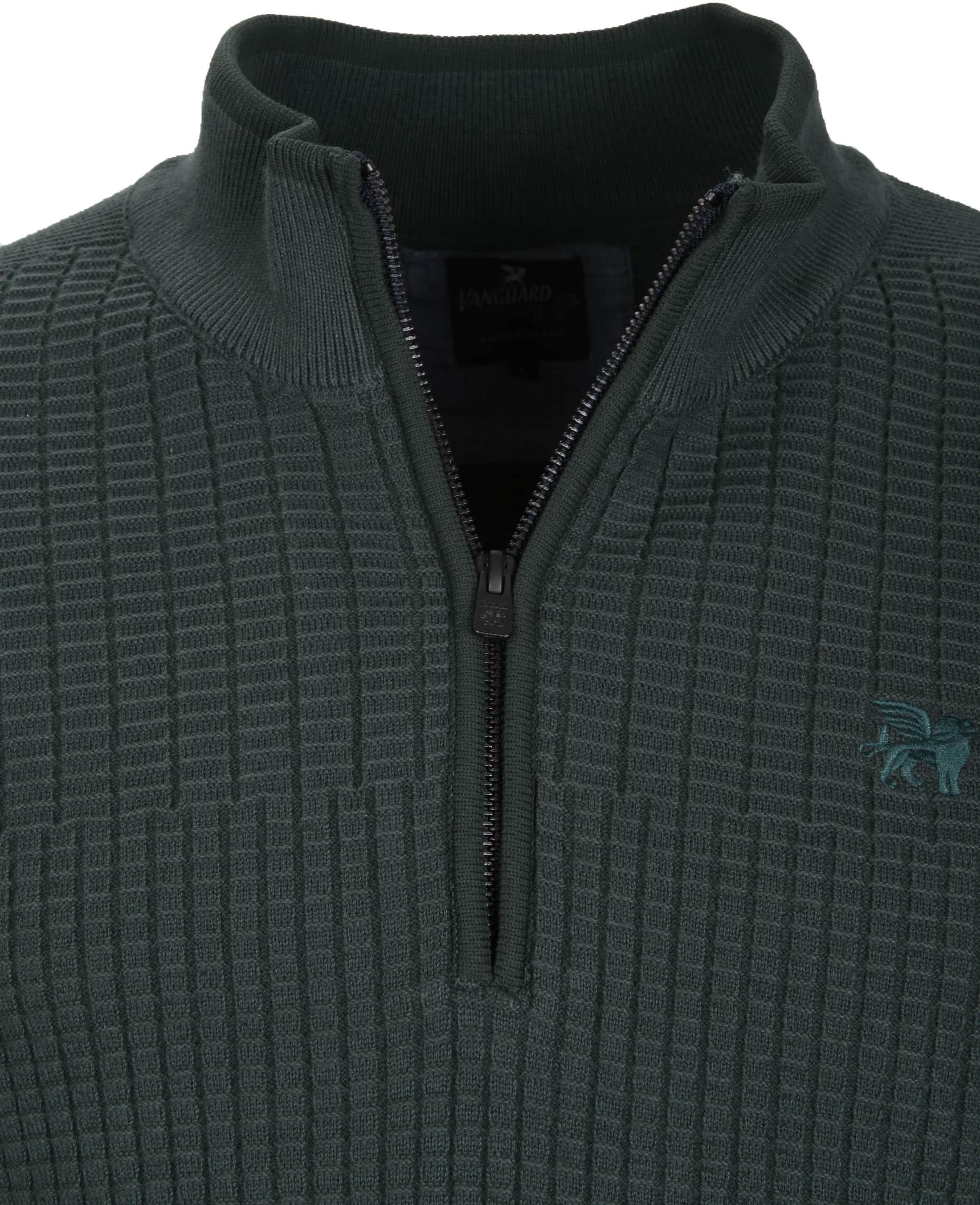 Vanguard Pullover Zipper Dark Green foto 1