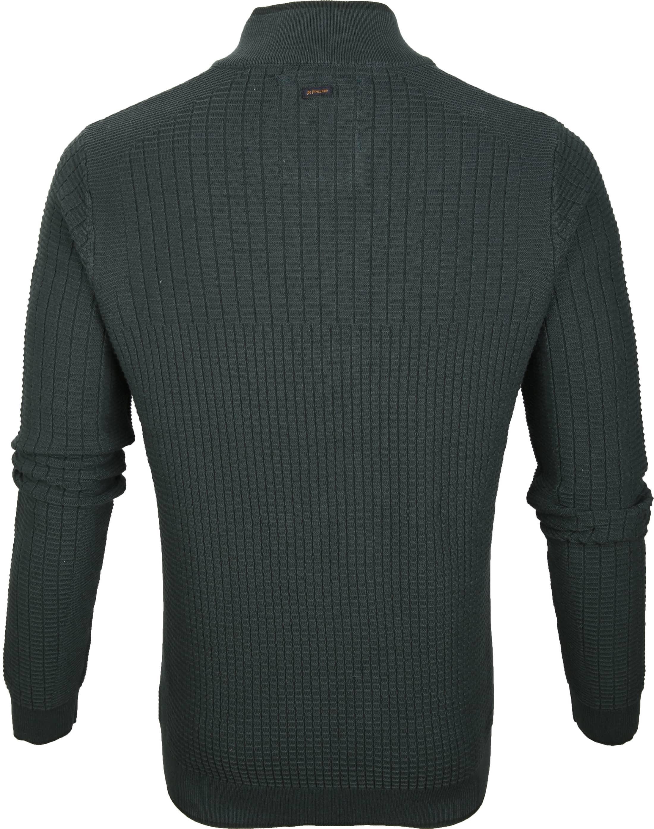 Vanguard Pullover Zipper Dark Green foto 3