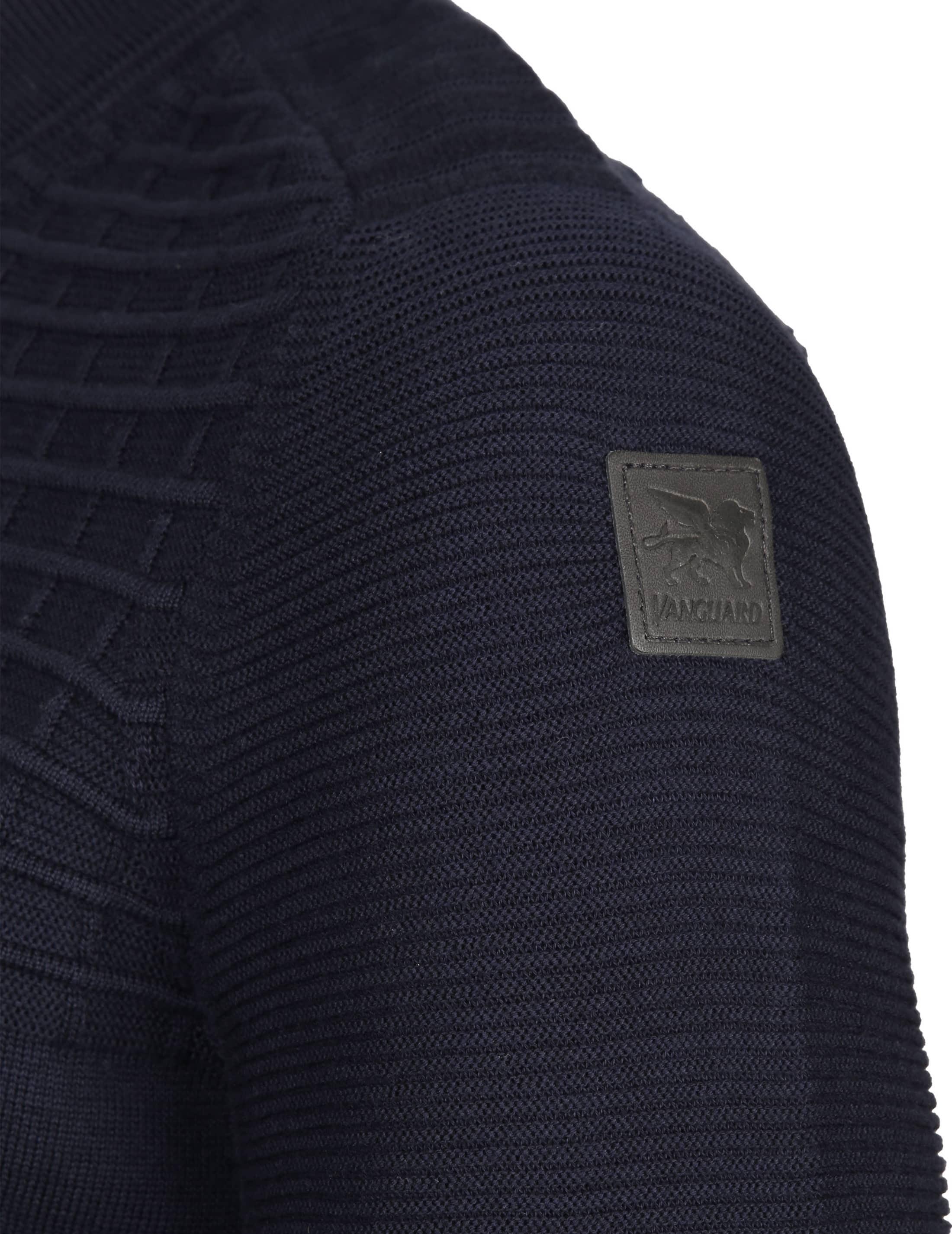 Vanguard Pullover Zipper Navy foto 3