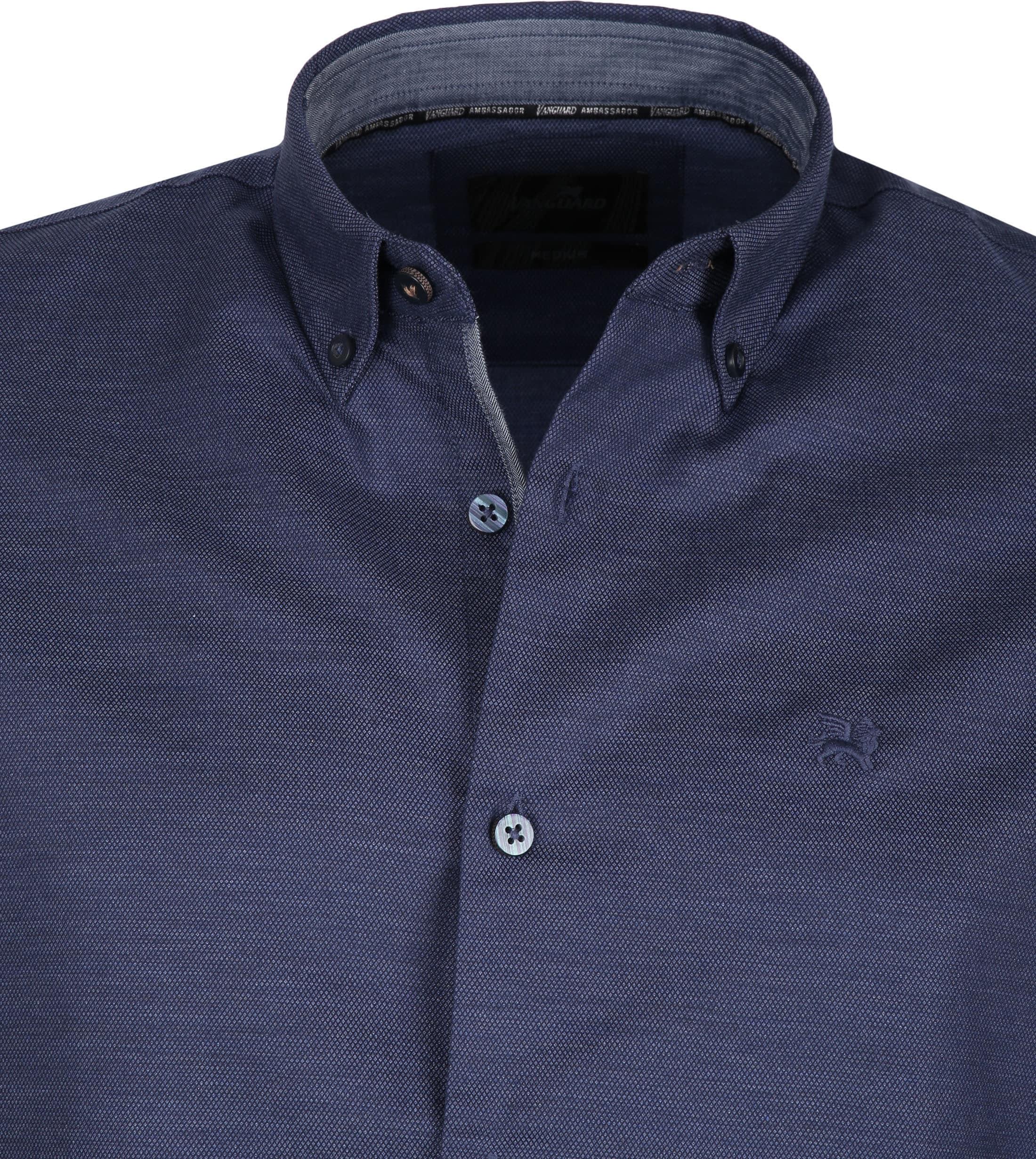 Vanguard Solid Shirt Navy foto 1
