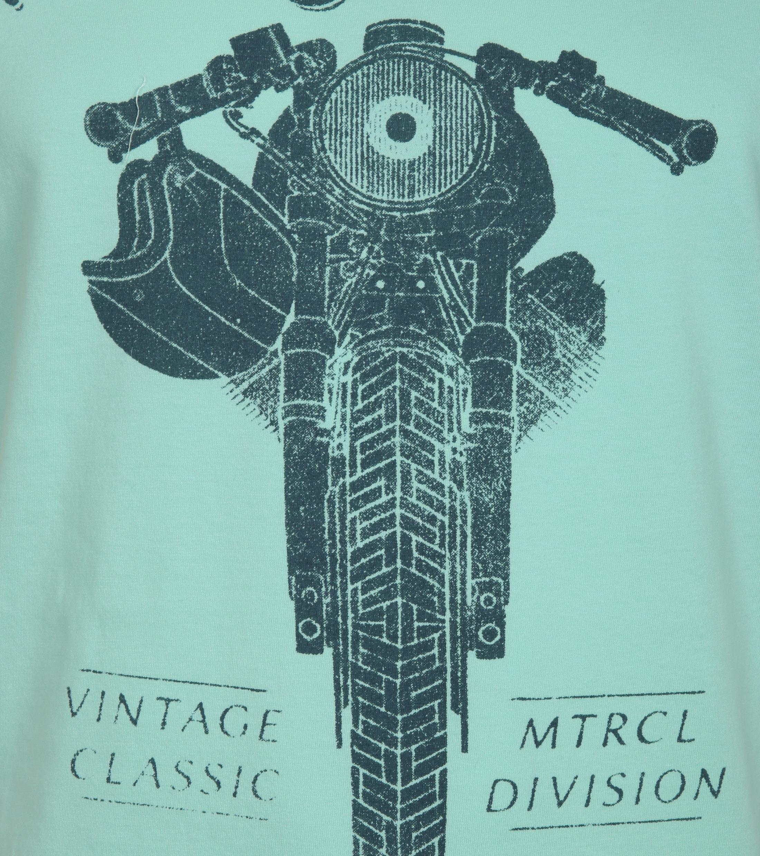 Vanguard T-shirt Motor Print Grün foto 1