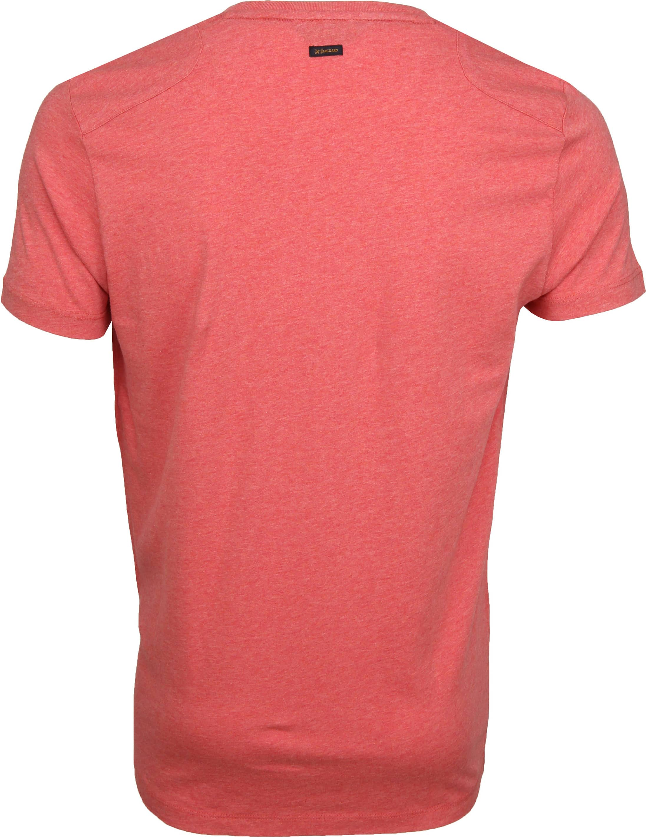 Vanguard T-shirt Print Pompeian Rood foto 2
