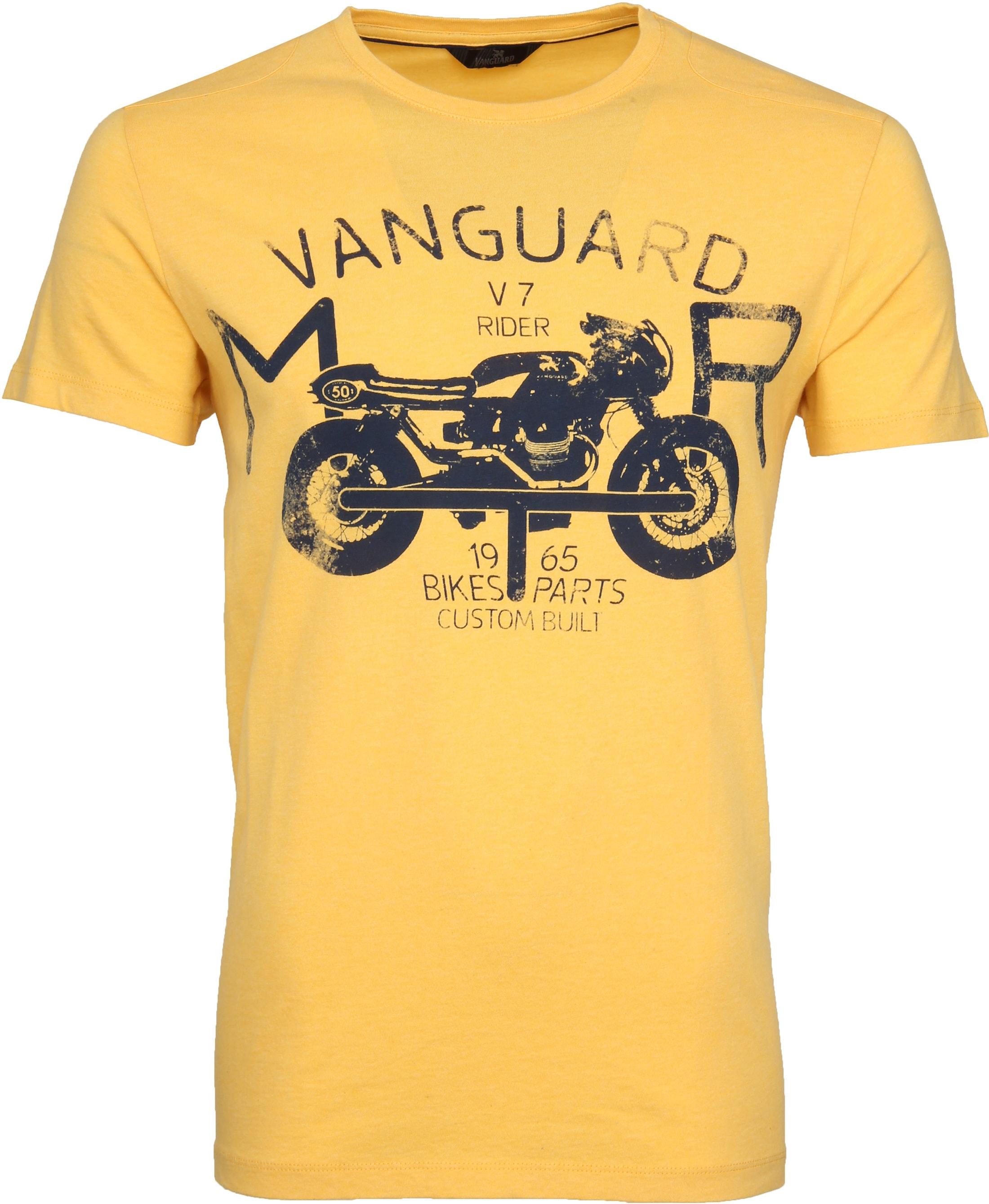 Vanguard T-shirt Print Samoan Sun Geel foto 0