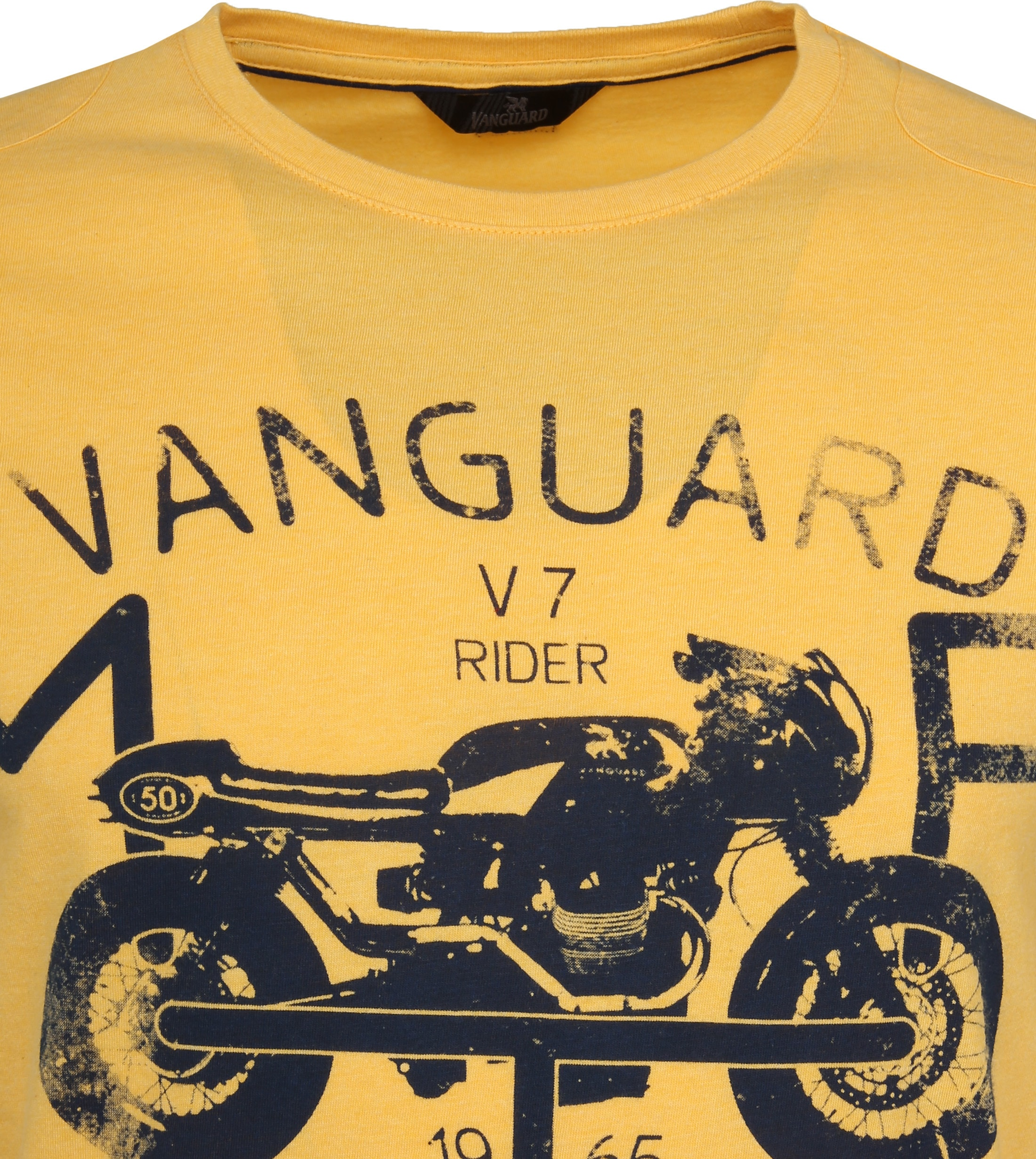 Vanguard T-shirt Print Samoan Sun Geel foto 1