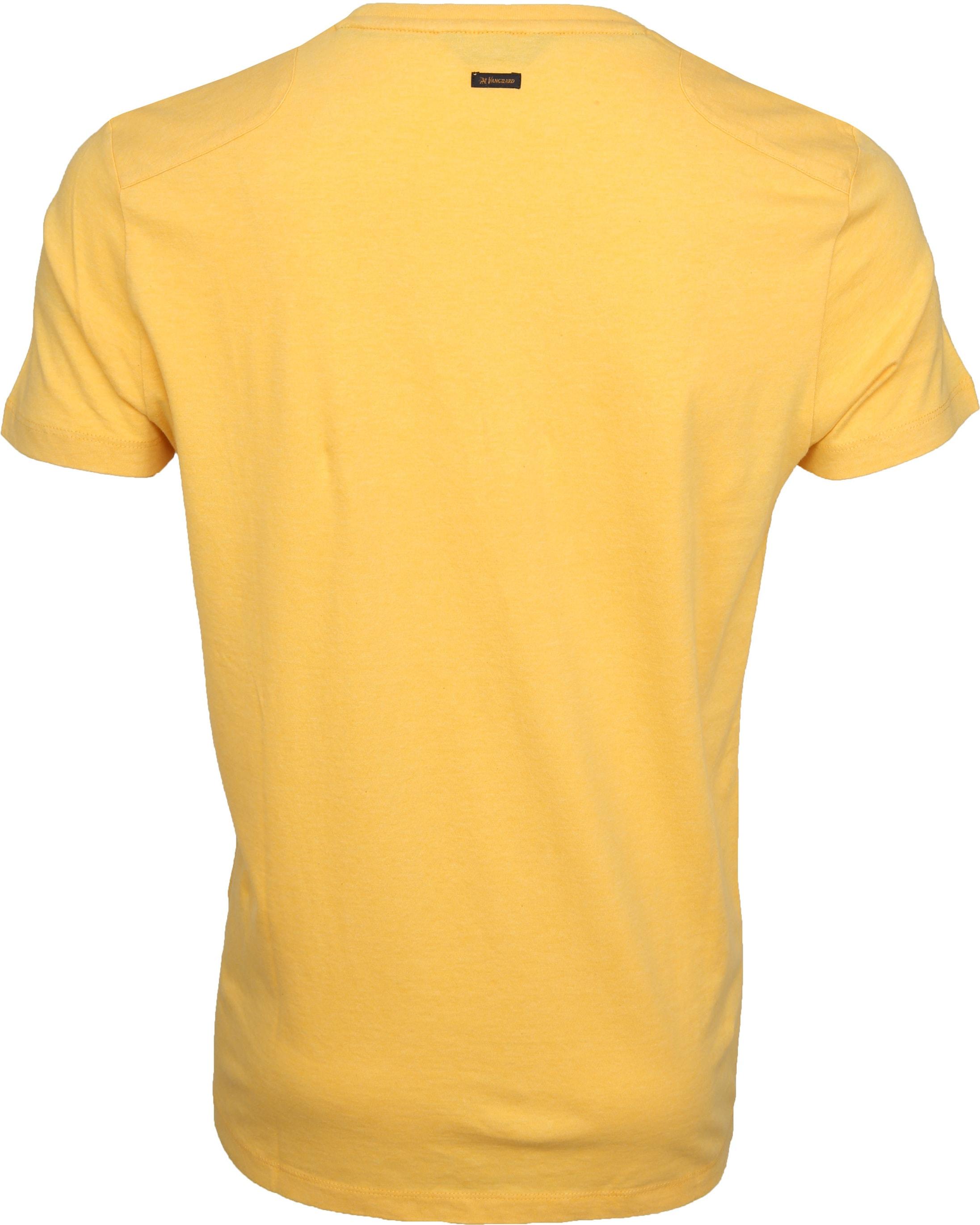 Vanguard T-shirt Print Samoan Sun Geel foto 2