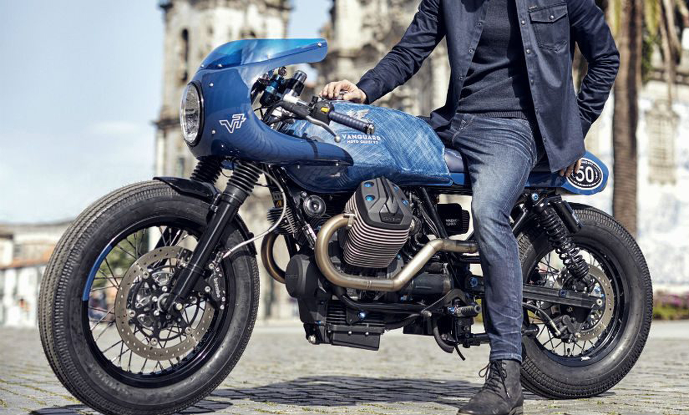 Vanguard V7 Rider Jeans Antraciet foto 7