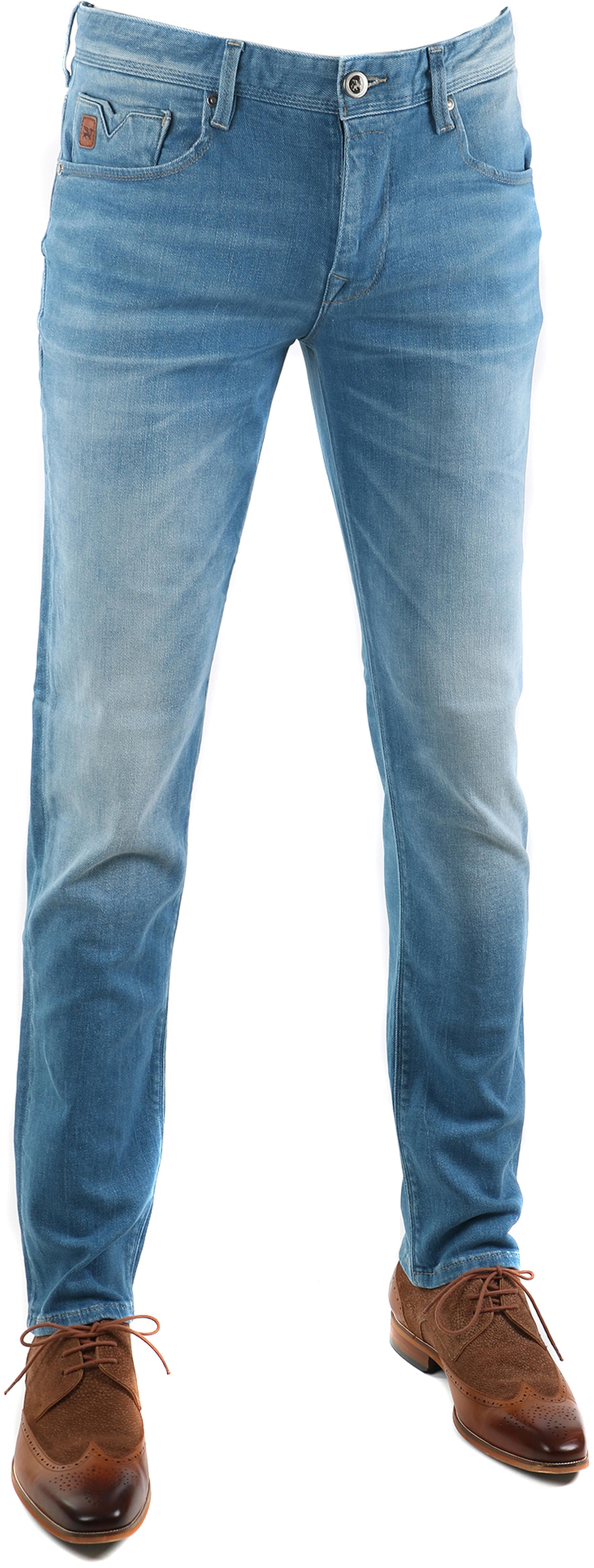 Vanguard V7 Rider Jeans Hellblau foto 0