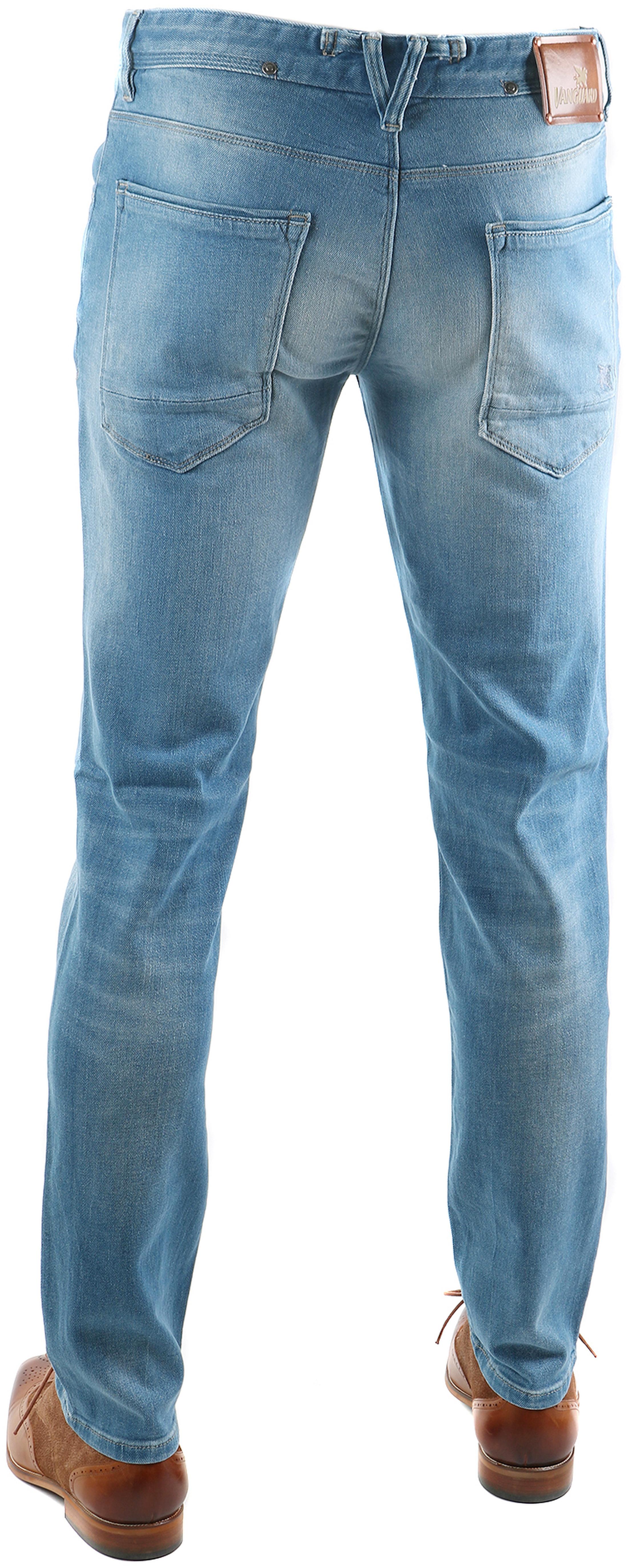 Vanguard V7 Rider Jeans Hellblau foto 1