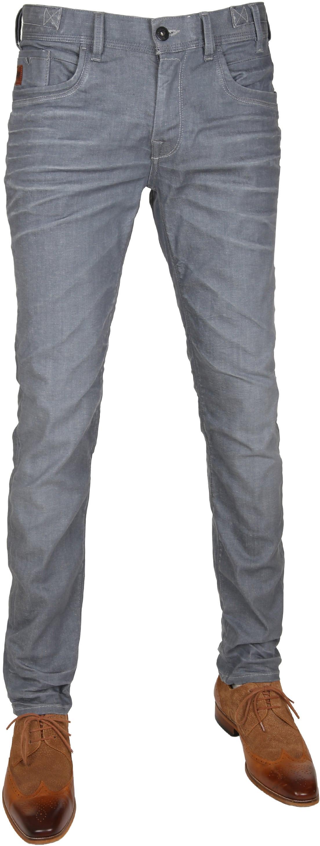 Vanguard V8 Racer Jeans Bleached Dark Grey foto 0