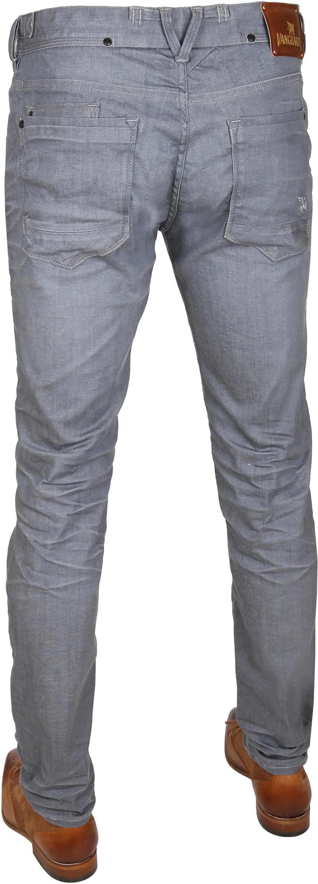 Vanguard V8 Racer Jeans Bleached Dark Grey foto 3