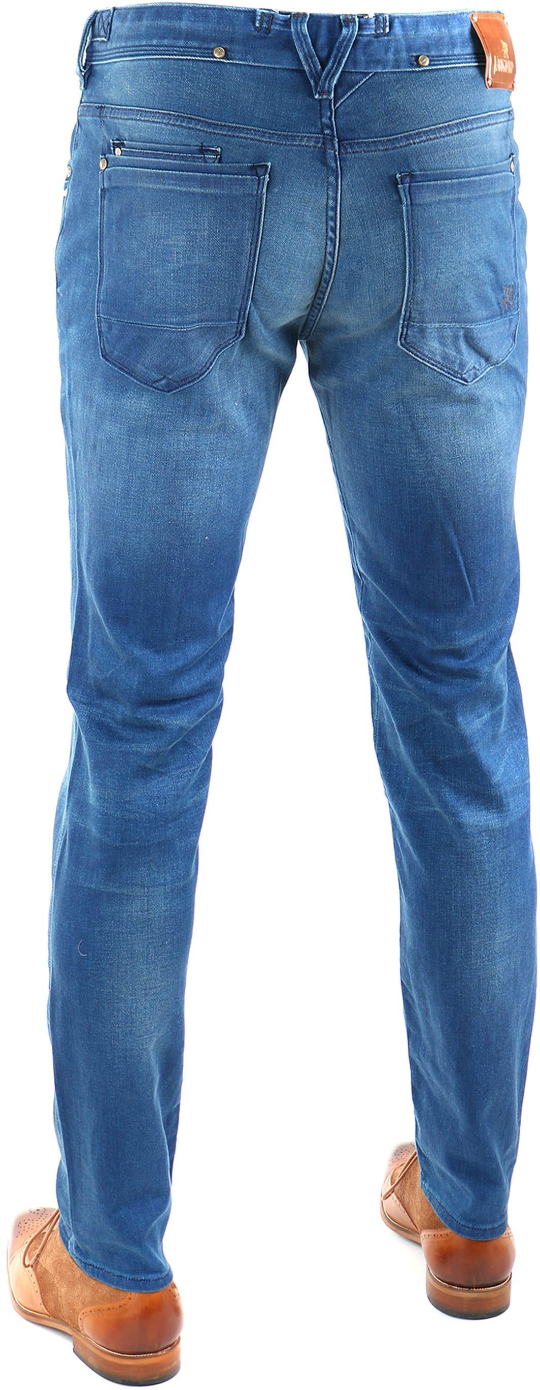 Vanguard V8 Racer Jeans Bright Blue foto 4