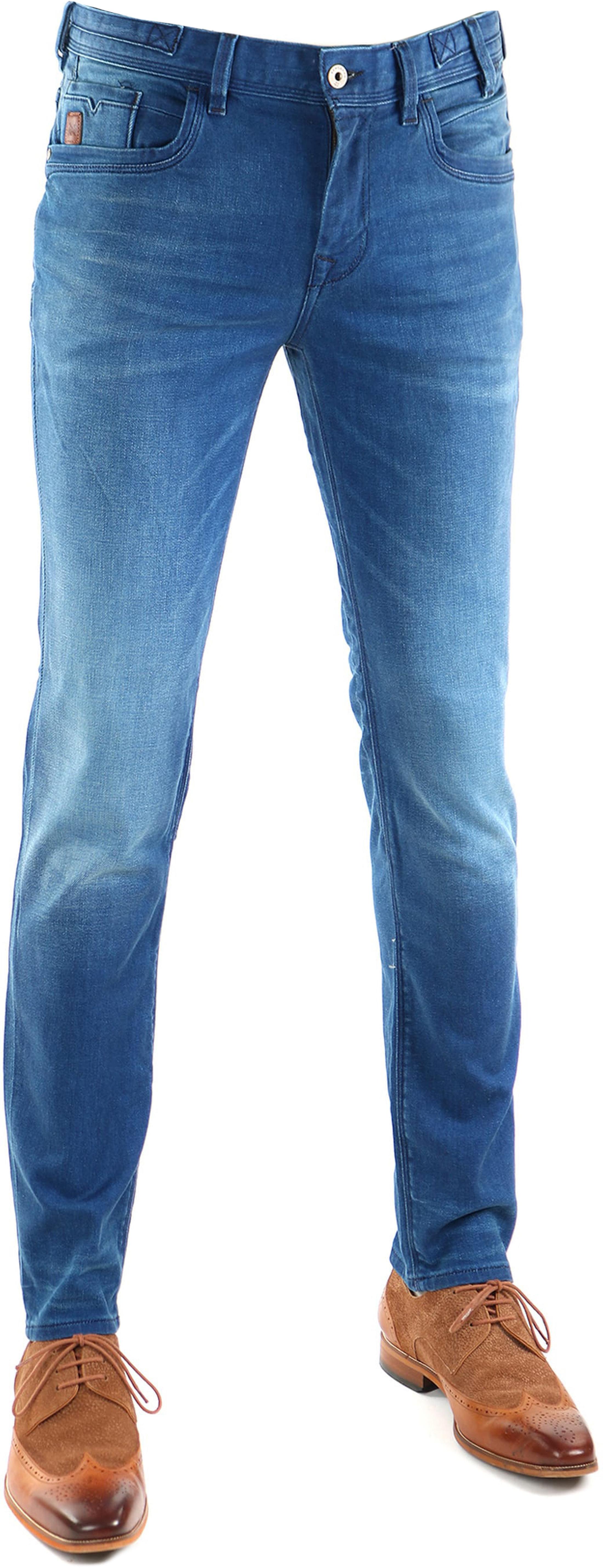 Vanguard V8 Racer Jeans Bright Blue foto 0