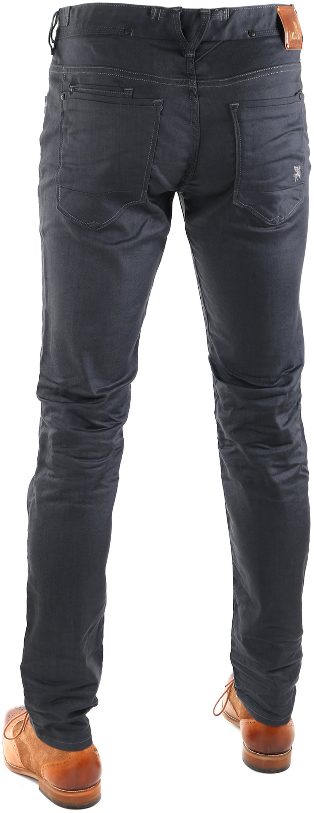 Vanguard V8 Racer Jeans Dark Grey foto 4